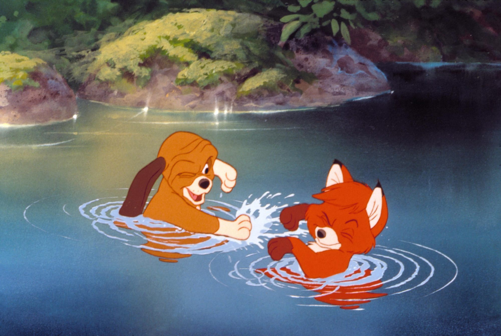 THE FOX AND THE HOUND, Walt Disney Animation, 1981