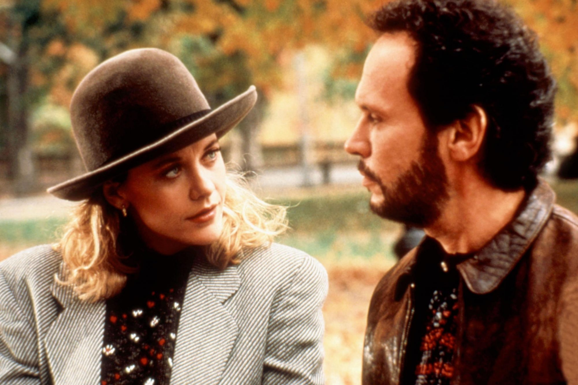 WHEN HARRY MET SALLY, Meg Ryan, Billy Crystal, 1989. (c) Columbia Pictures/ Courtesy: Everett Collec
