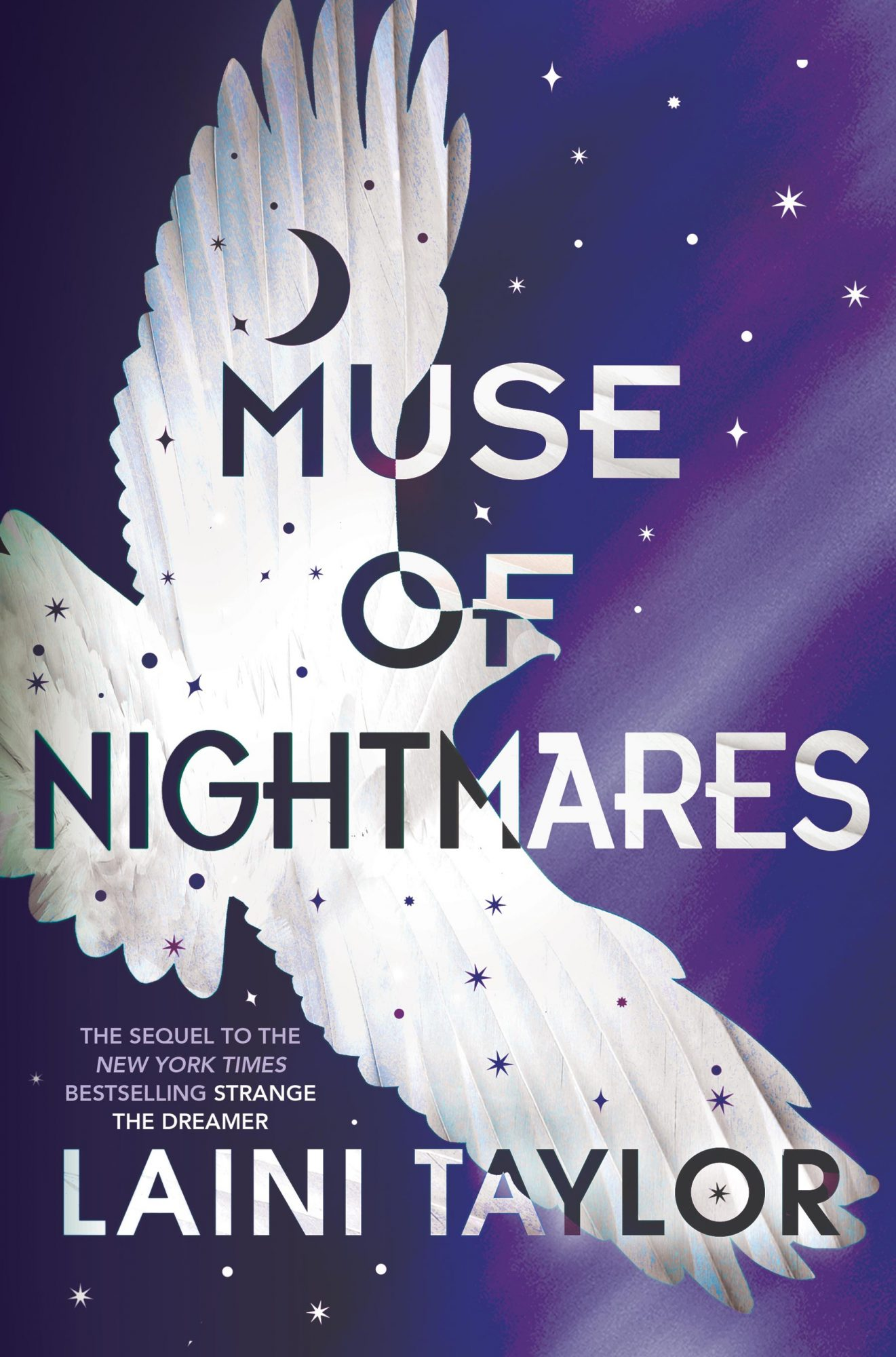 Muse of Nightmaresby Laini Taylor CR: Little, Brown Books for Young Readers