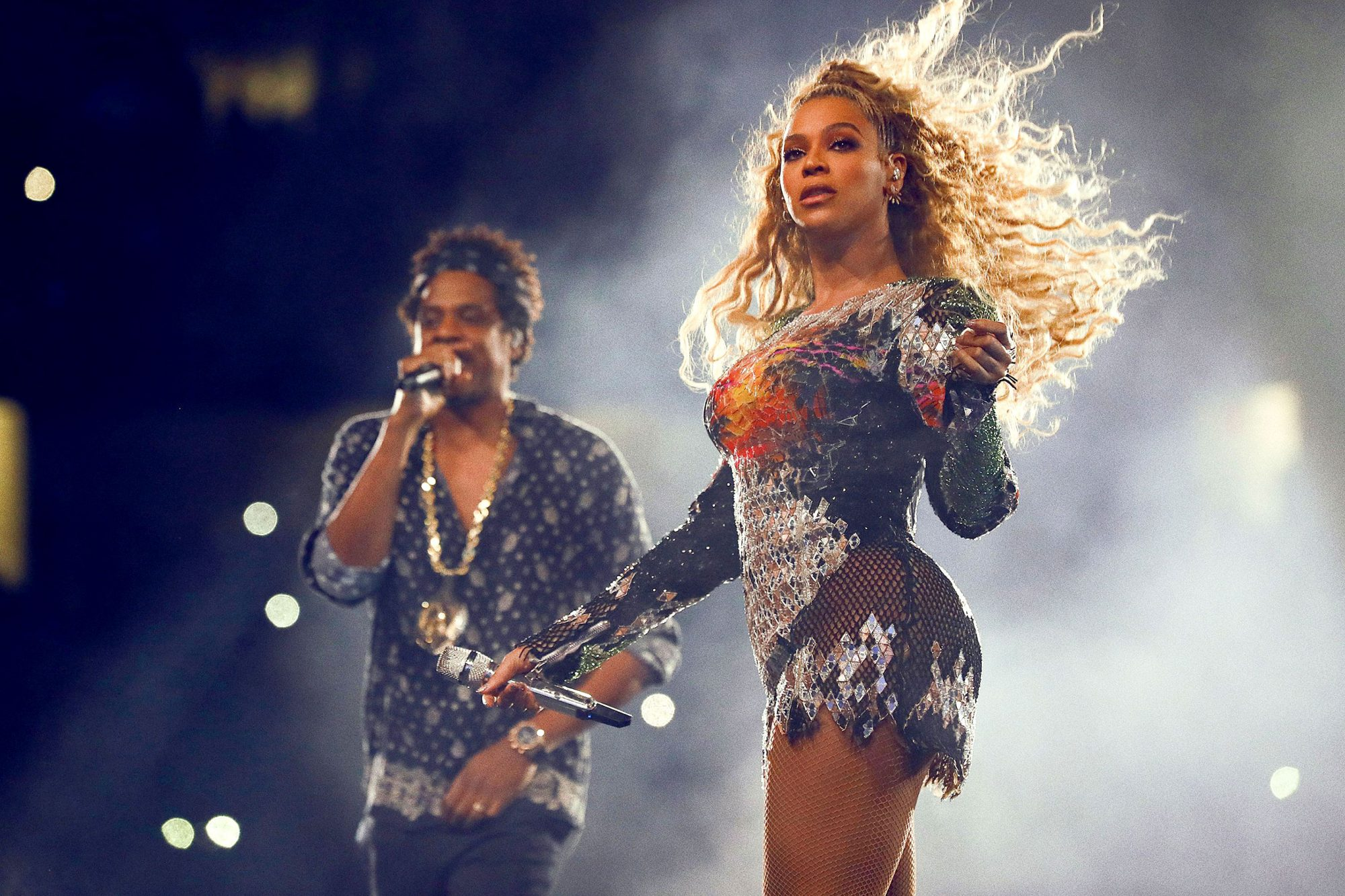 Beyonce and Jay-Z in concert, 'On The Run II Tour', Detroit, USA - 13 Aug 2018