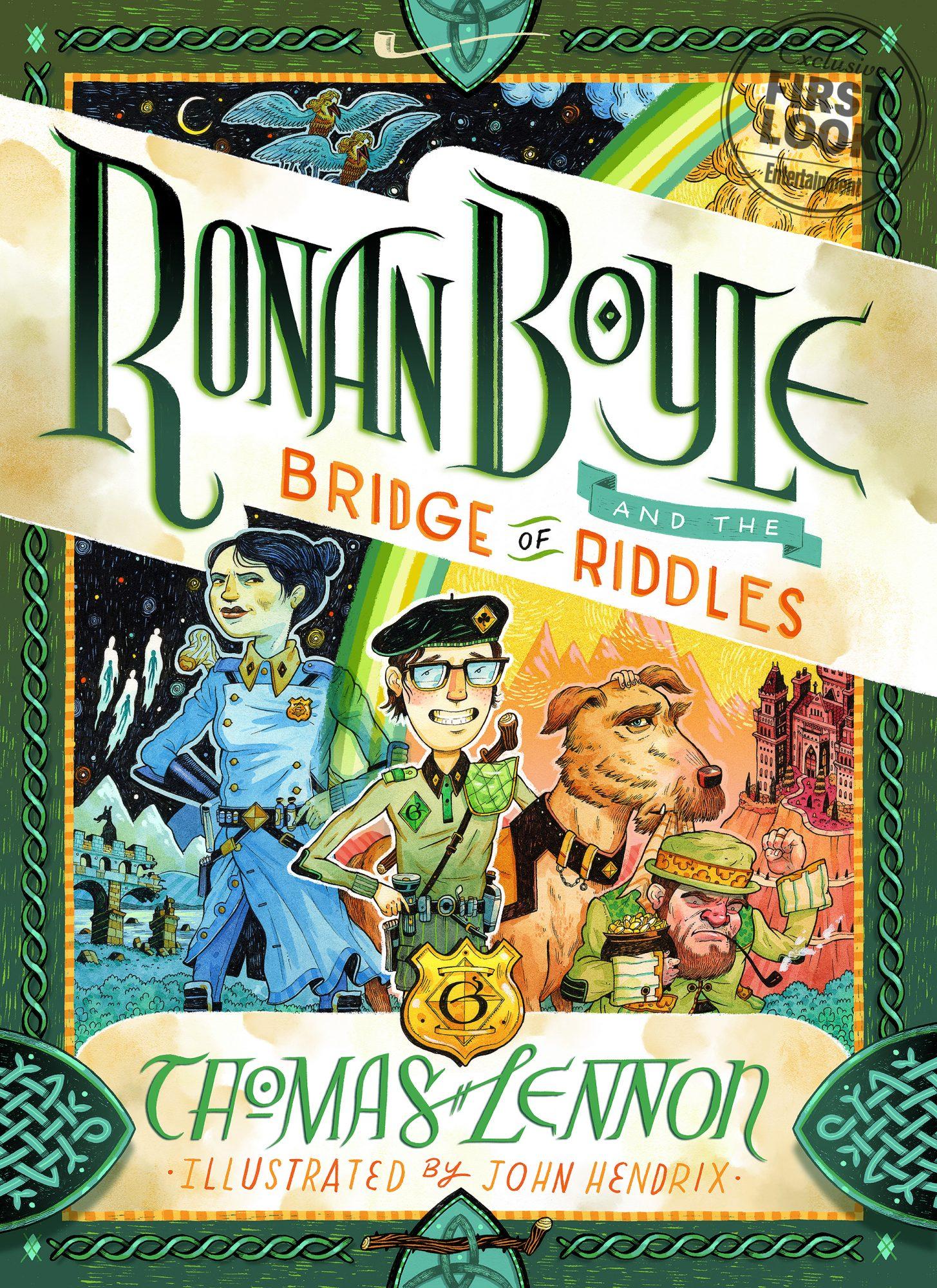 Thomas Lennon book announcement Ronan Boyle and the Bridge of Riddles