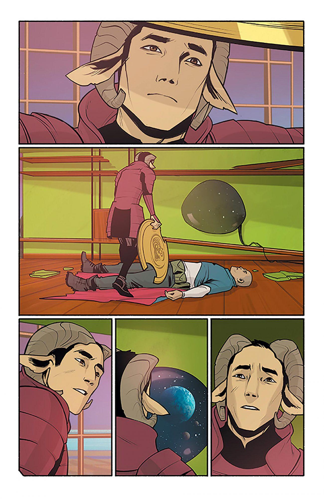 Saga by Brian K. Vaughan and Fiona Staples CR: Image Comics