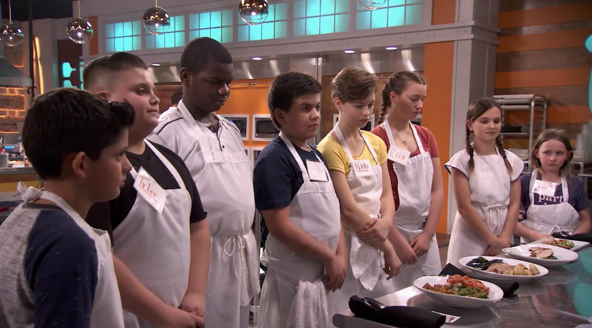 Top Chef Junior season 2 Making the Cut screen grab