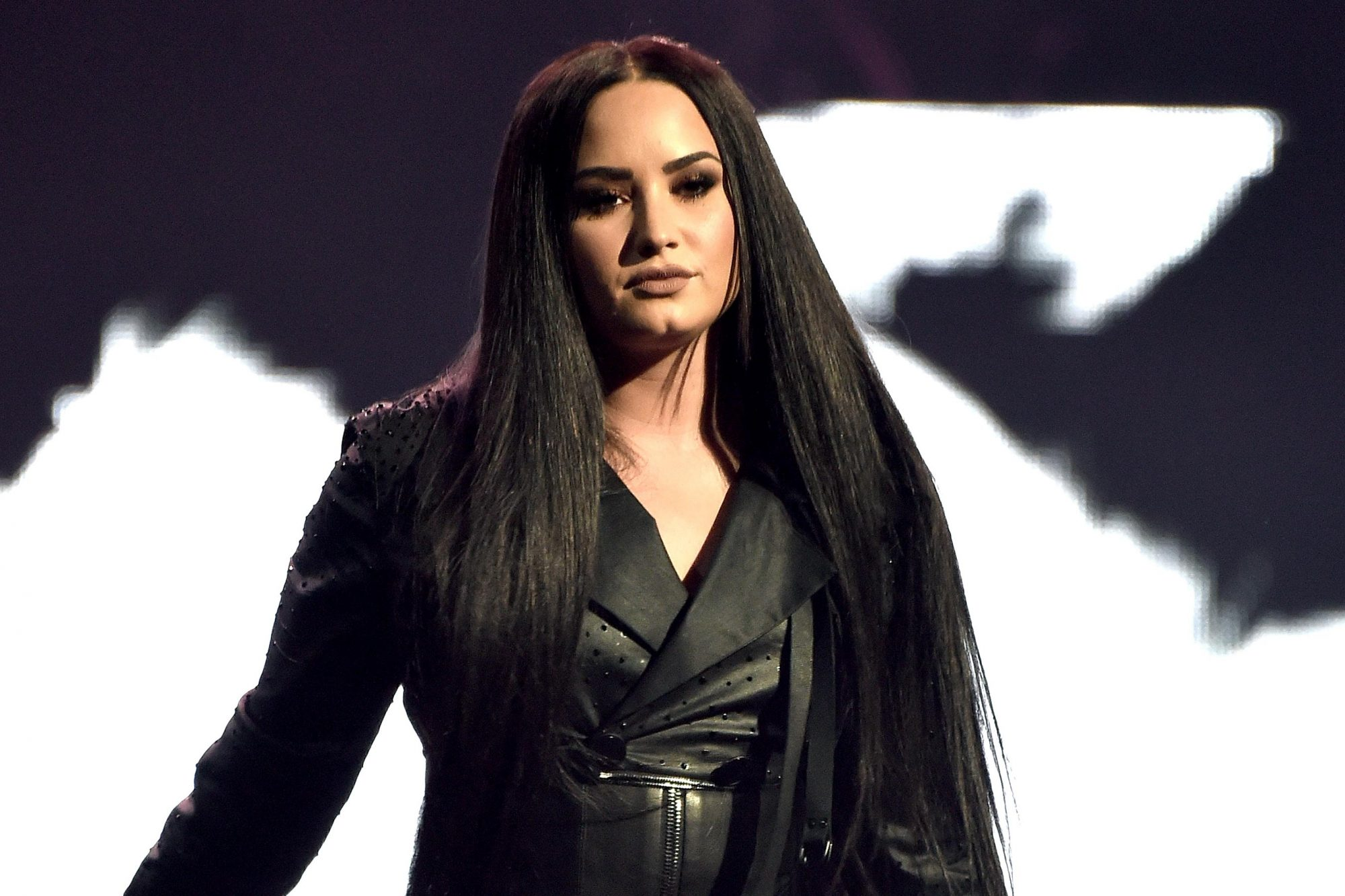 Demi Lovato in concert on her 'Tell Me You Love Me' World Tour, SAP Center, San Jose, USA - 28 Feb 2018