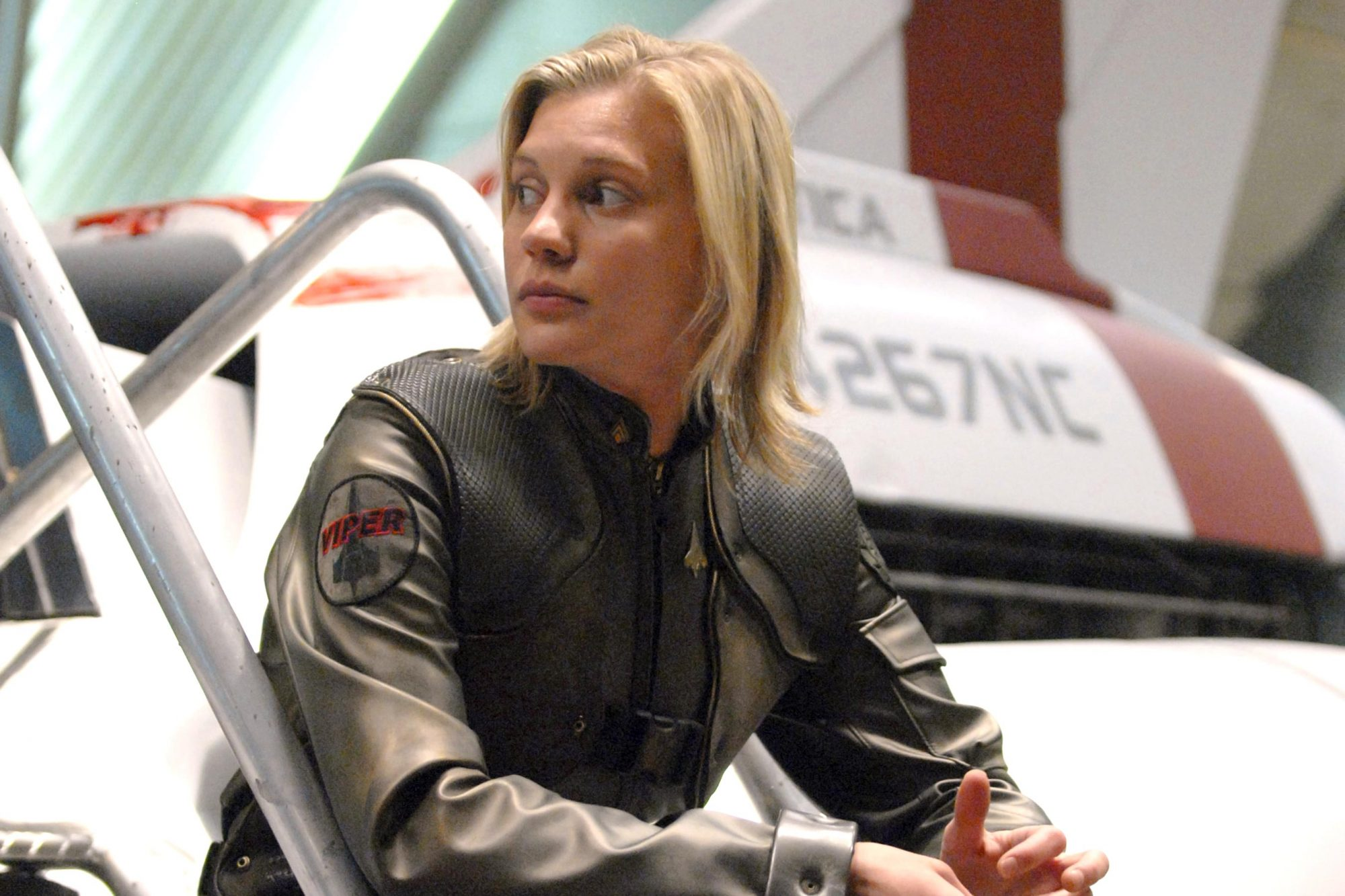 BATTLESTAR GALACTICA, Katee Sackhoff, 'He That Believeth in Me', (Season 4, episode 1, aired April 4