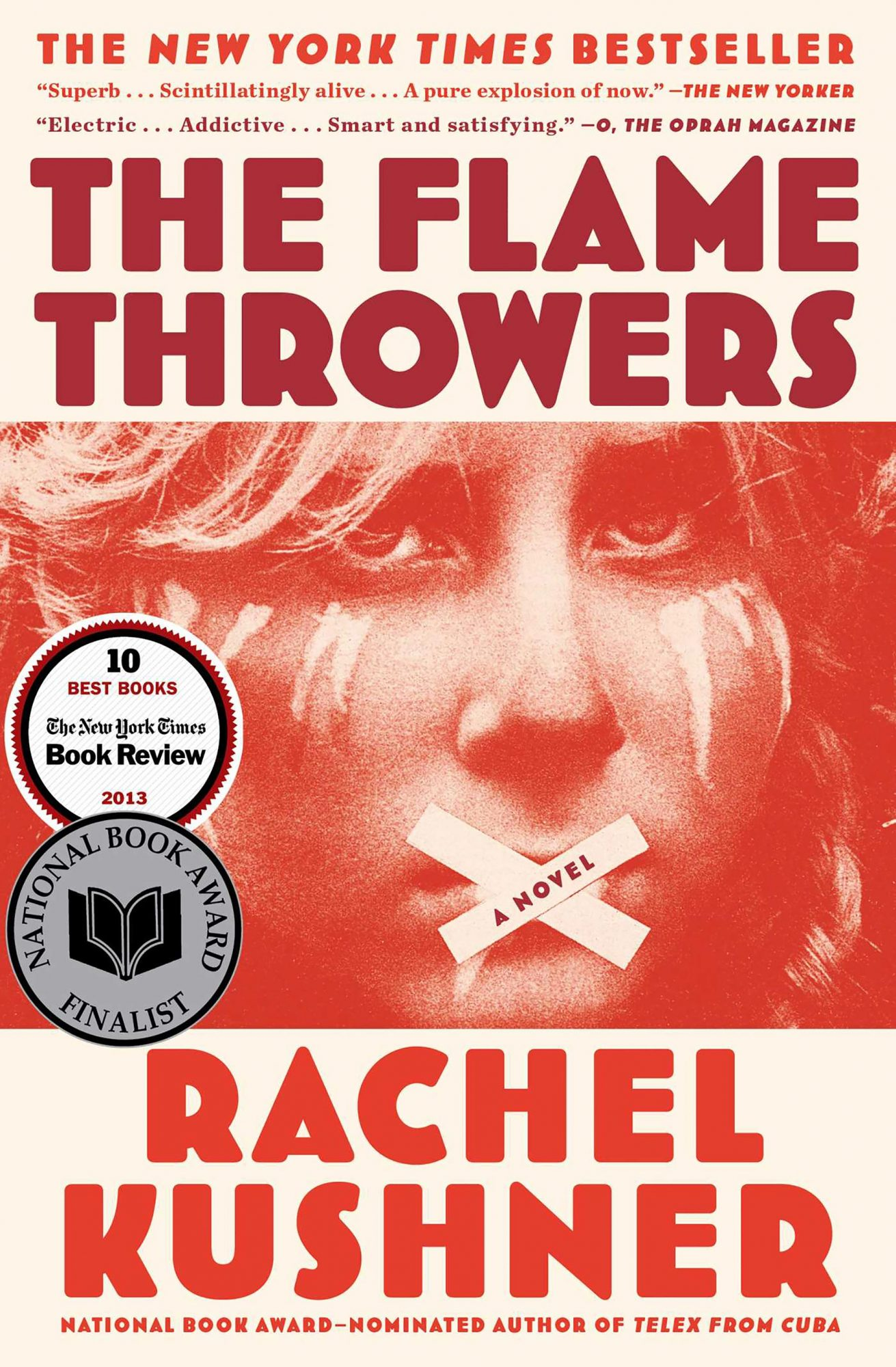The Flamethrowers by Rachel KushnerCR: Simon & Schuster