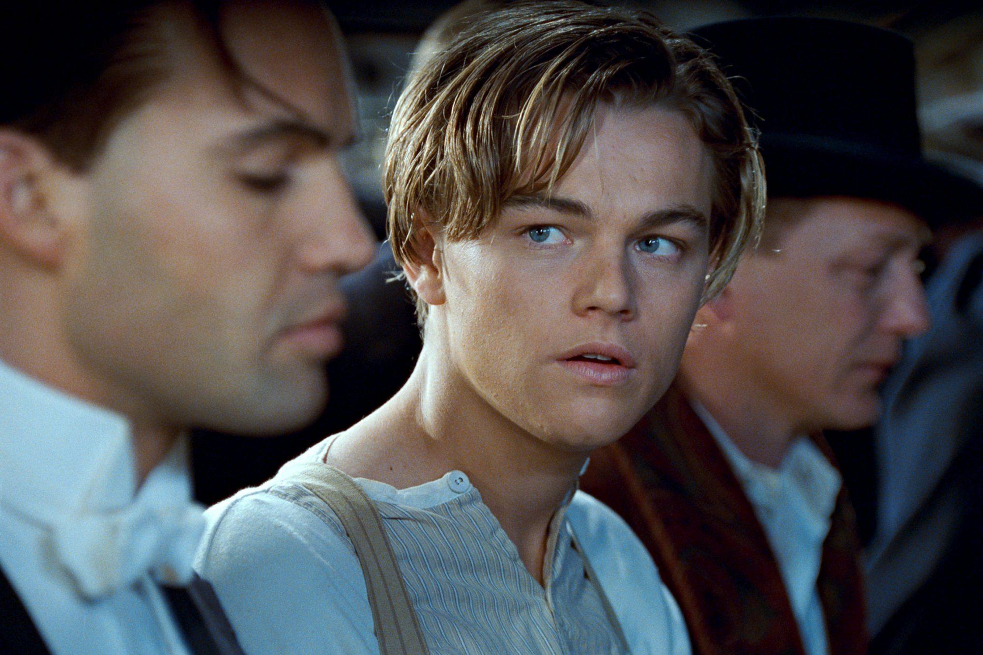 TITANIC, Leonardo DiCaprio (center), 1997. TM & Copyright ©20th Century Fox Film Corp. All rights re