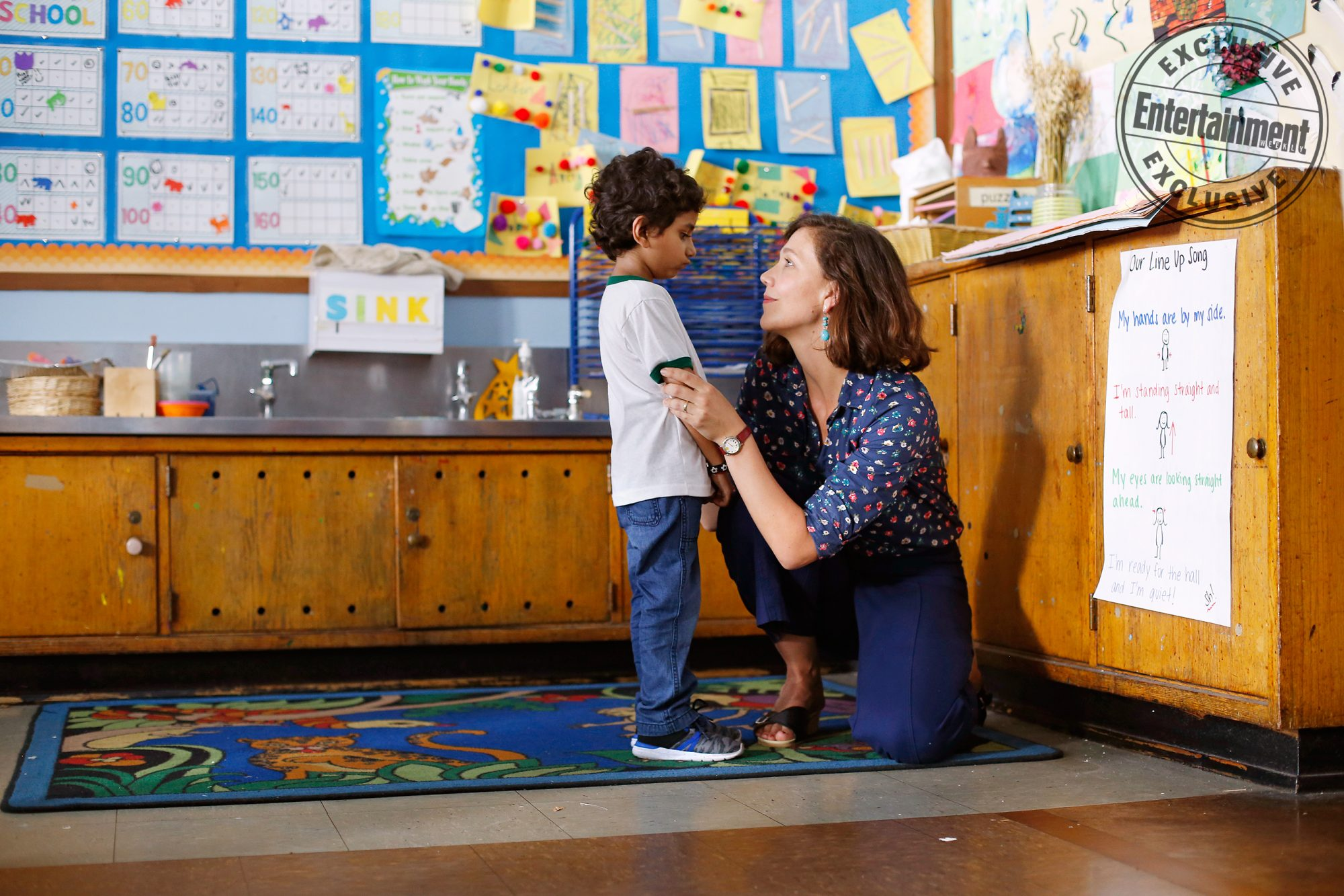 The Kindergarten TeacherParker Sevak and Maggie Gyllenhaal