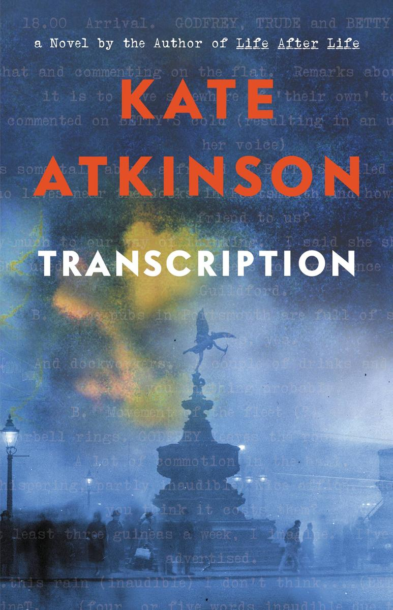 Kate Atkinson, Transcription  CR:  Little, Brown and Company
