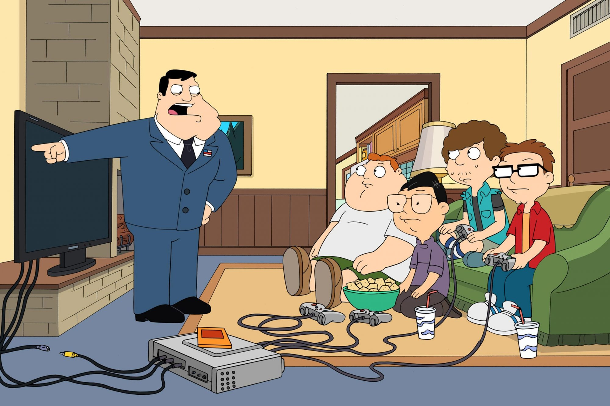 AMERICAN DAD: airdate Sunday, March 23,  2014