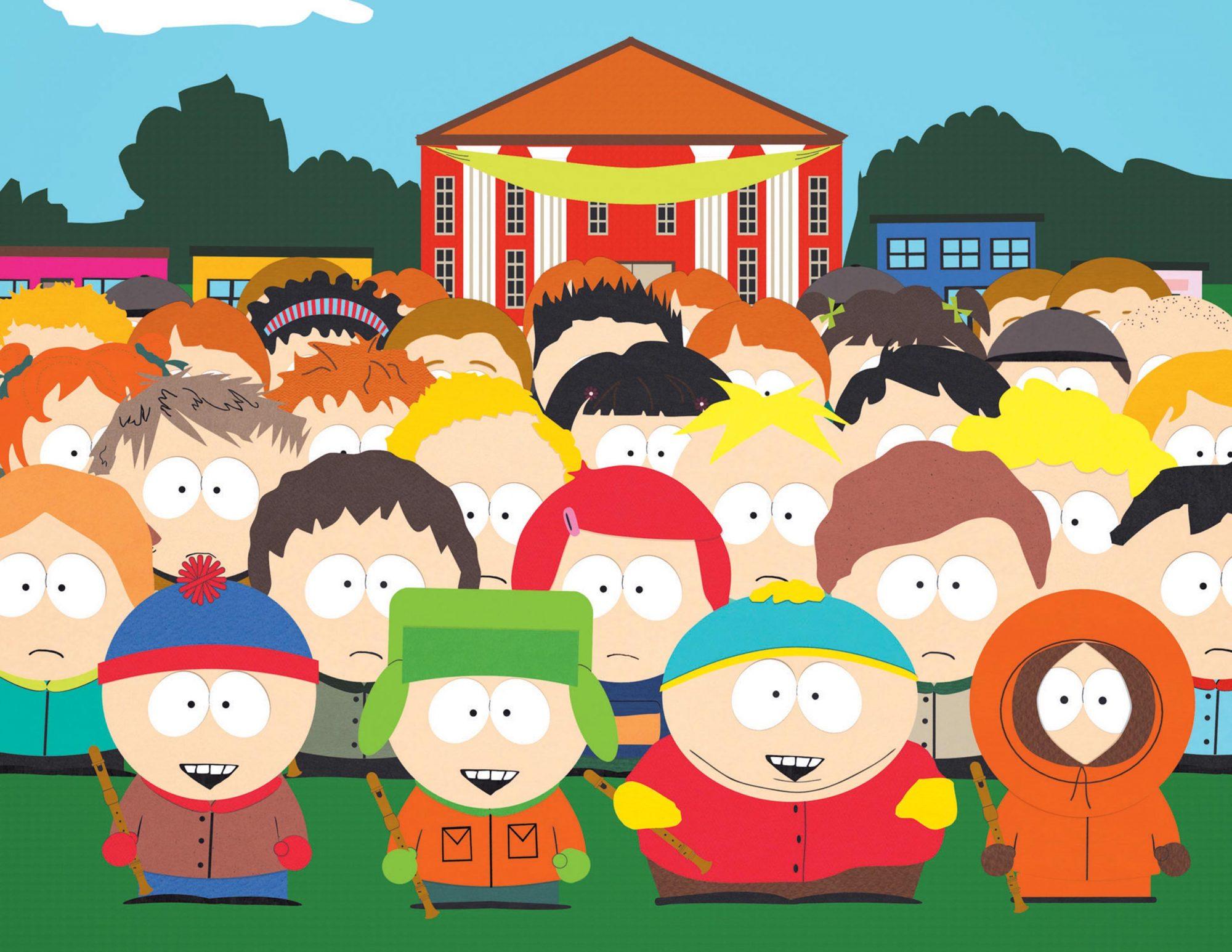 South ParkGalleryl-r: Stan, Kyle, Cartman, Kenny