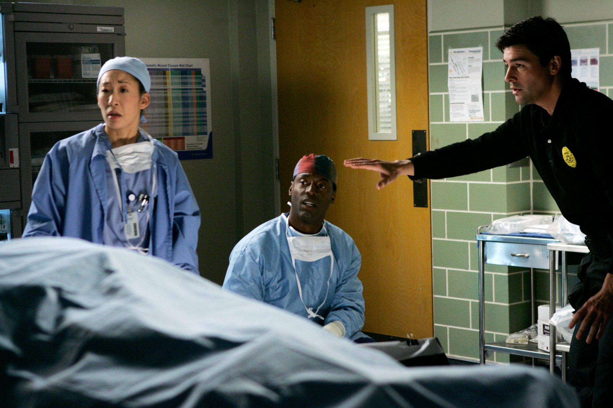 SANDRA OH, ISAIAH WASHINGTON, KYLE CHANDLER