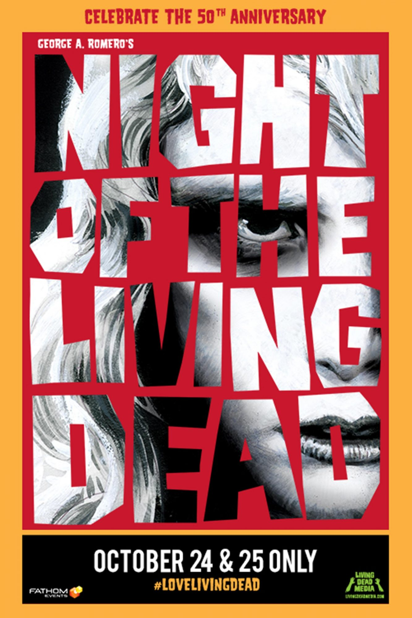 Night of the Living Dead 1968 movie poster