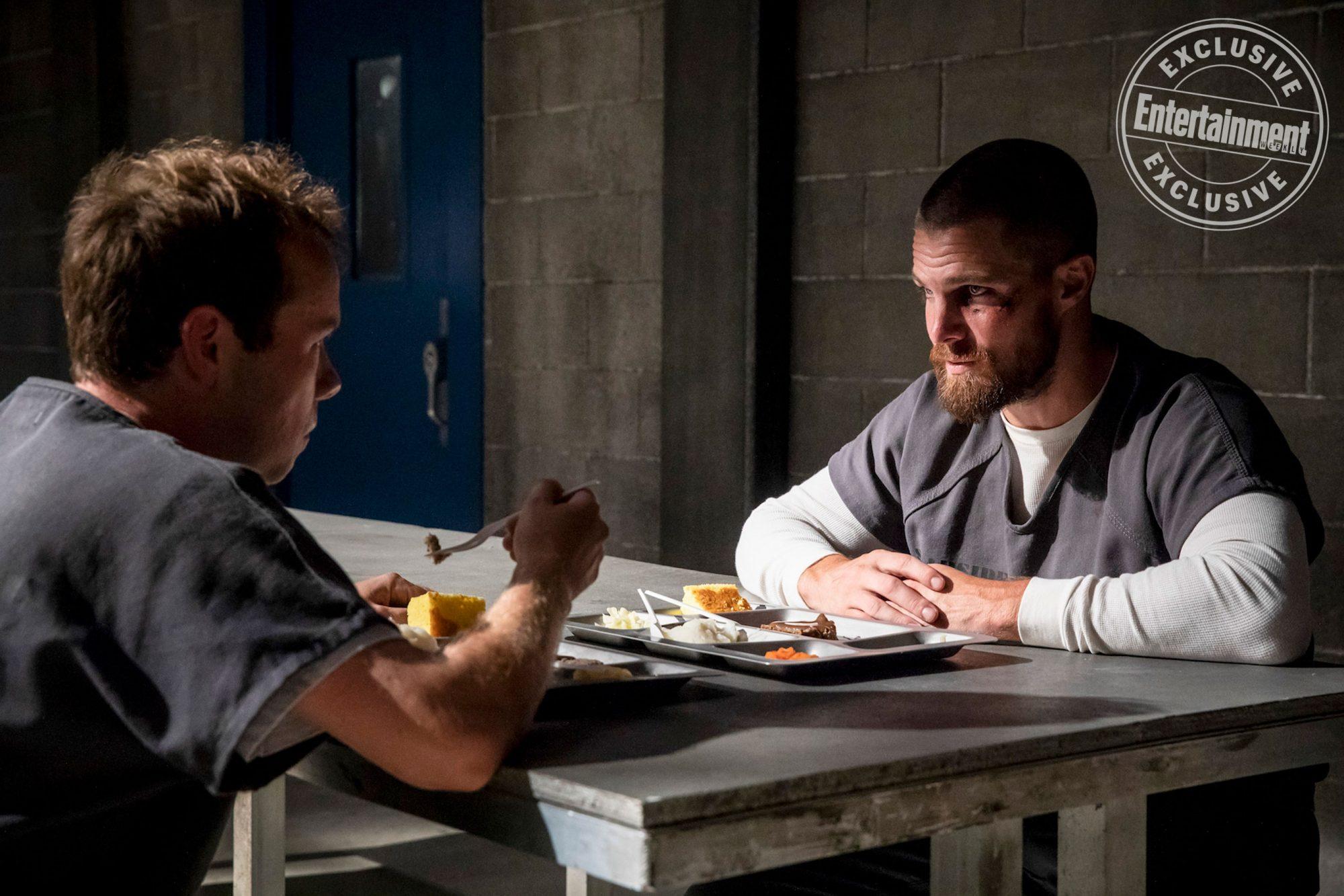 "Arrow  Ep701 --""Inmate #4587""-- Photo credit: Jack Rowand / ©2017 Warner"