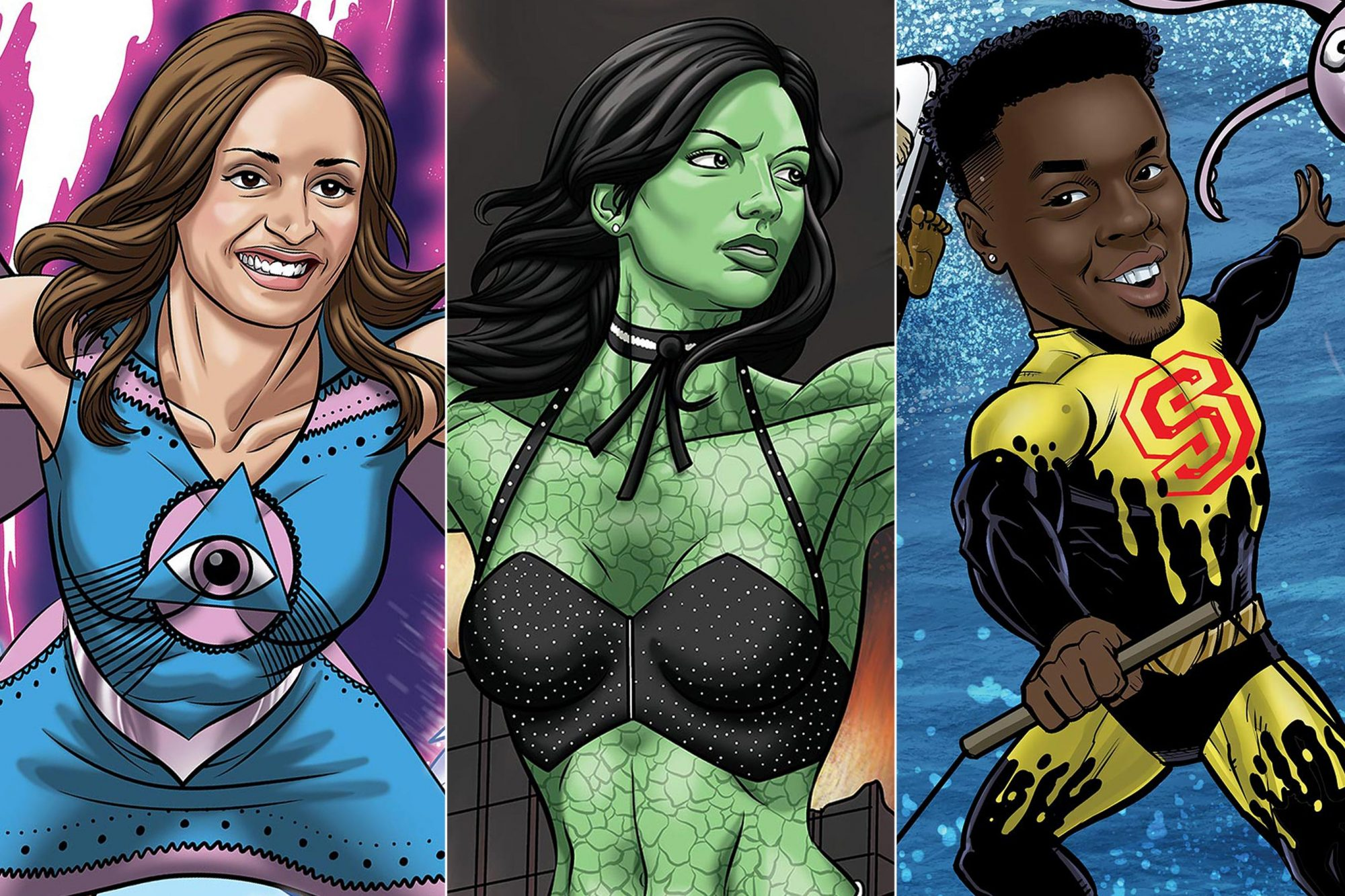 Behold the first batch of Big Brother season 20 comic book covers!