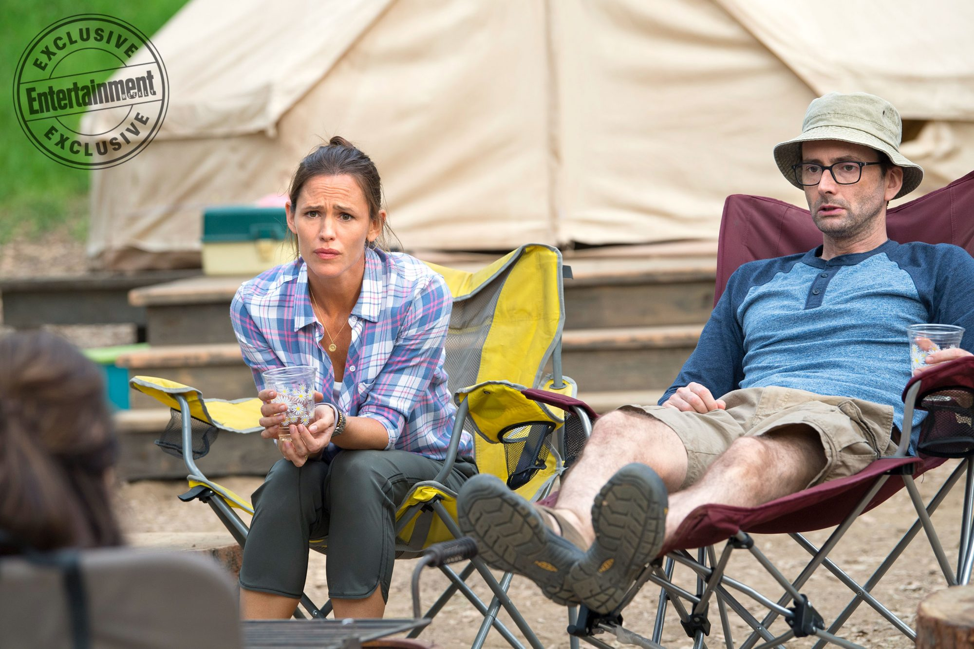 CampingEpsiode: PilotPictured: Jennifer Garner and David Tennant