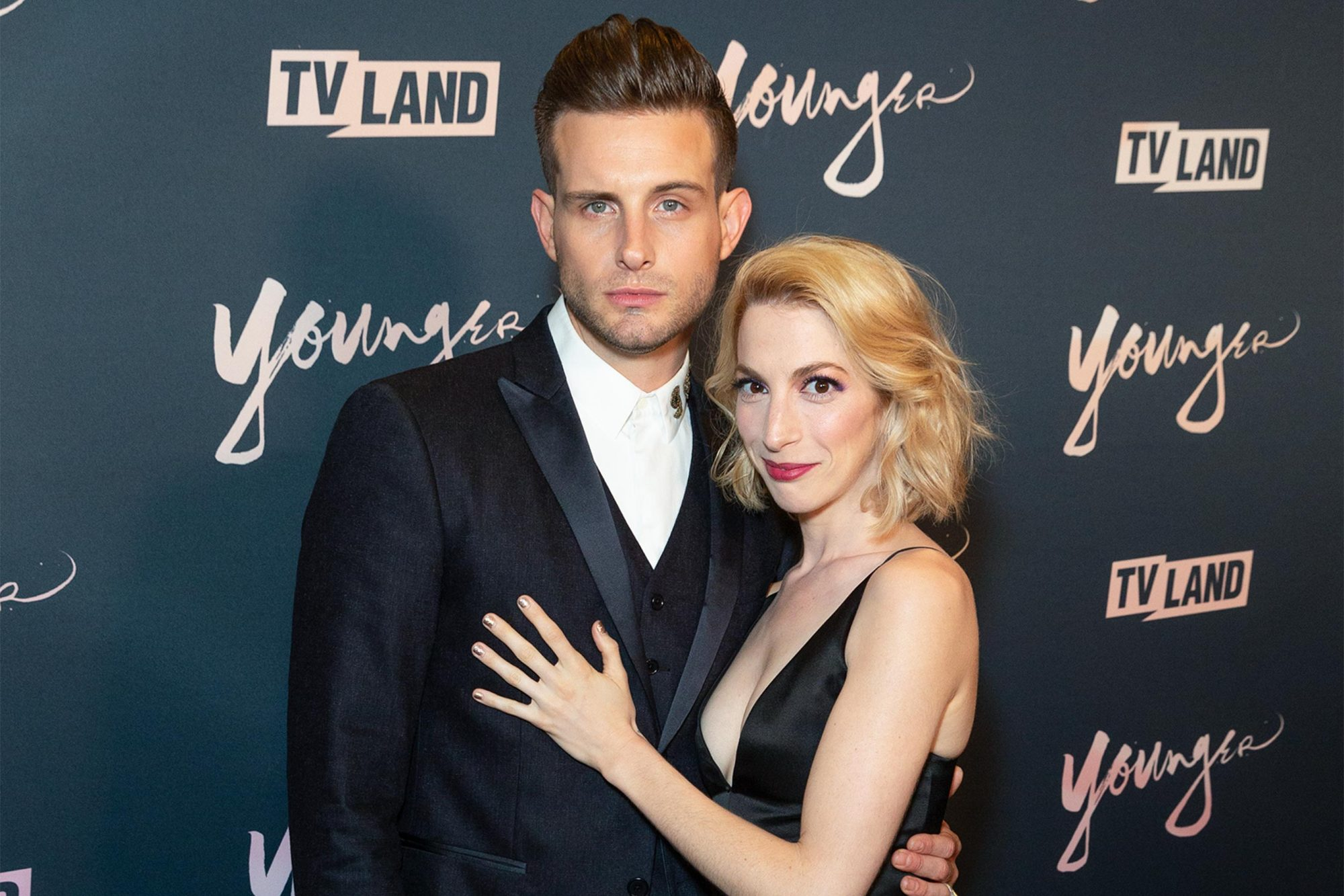 Nico Tortorella and Molly Bernard attend Younger Season 5