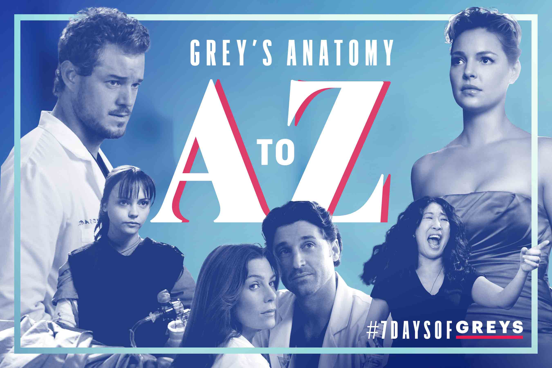 Greys A to Z tout