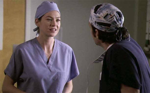 "Meredith to Derek in ""Bring the Pain"" on Grey's Anatomy"