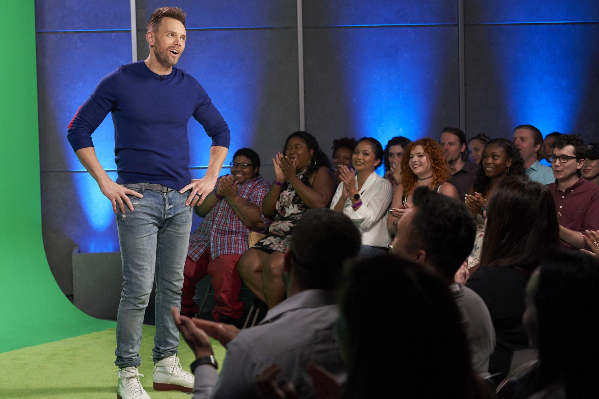 The Joel McHale Show with Joel McHaleTHE JOEL MCHALE SHOW WITH JOEL MCHALE - PRODUCTION STILLS - 004DESCRIPTIONPart 2SEASONPart 2PHOTO CREDITGreg Gayne / NetflixPICTUREDJoel McHale
