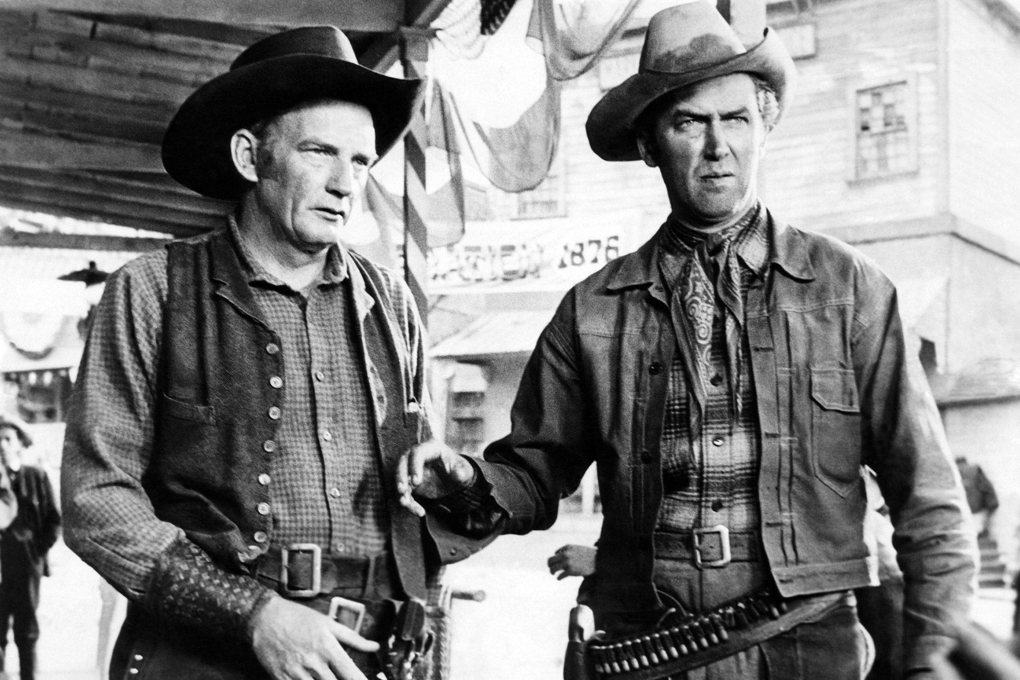 WINCHESTER '73, Millard Mitchell, James Stewart, 1950