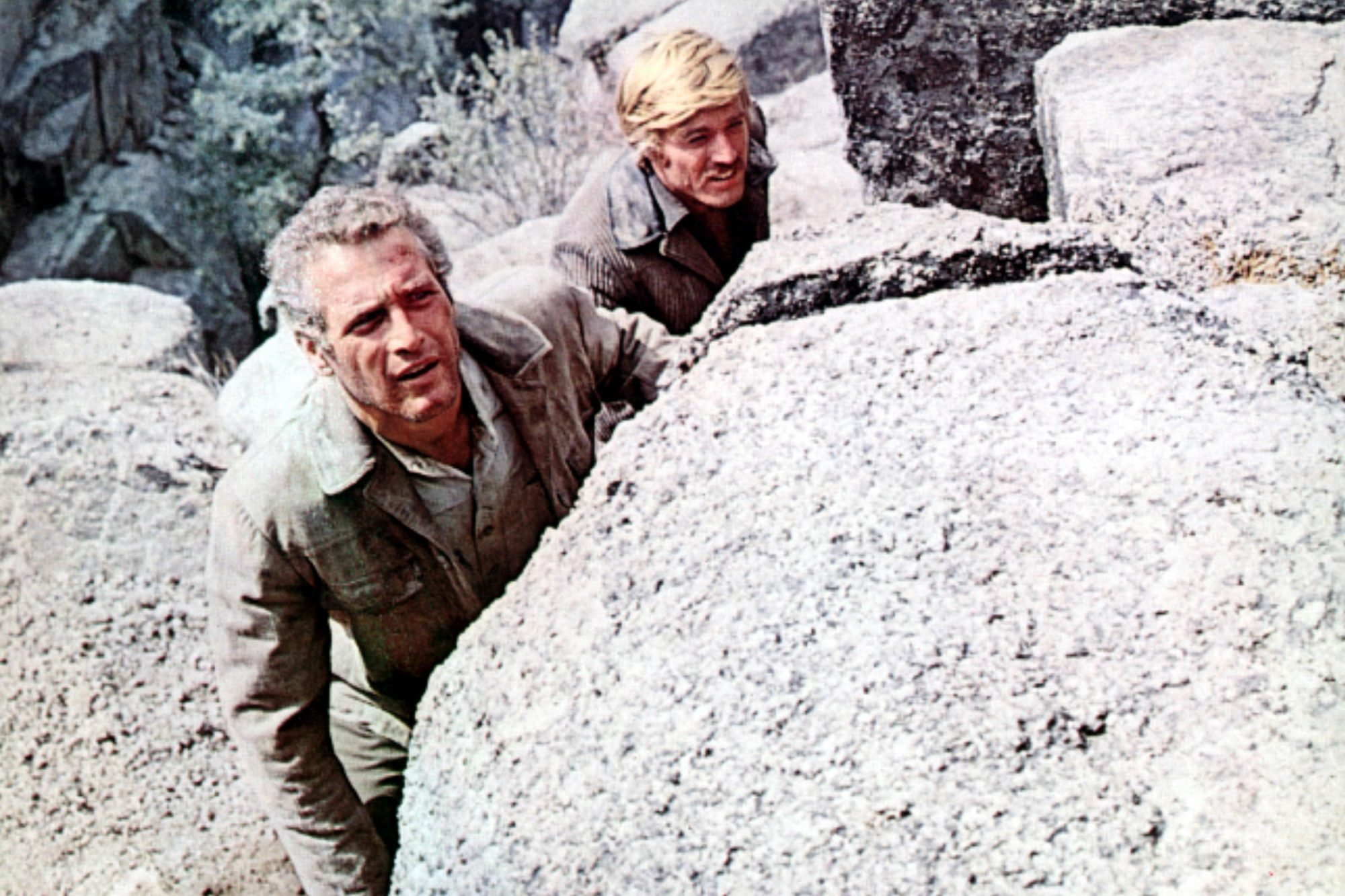 BUTCH CASSIDY AND THE SUNDANCE KID, Paul Newman, Robert Redford, 1969. TM and Copyright (c) 20th Cen