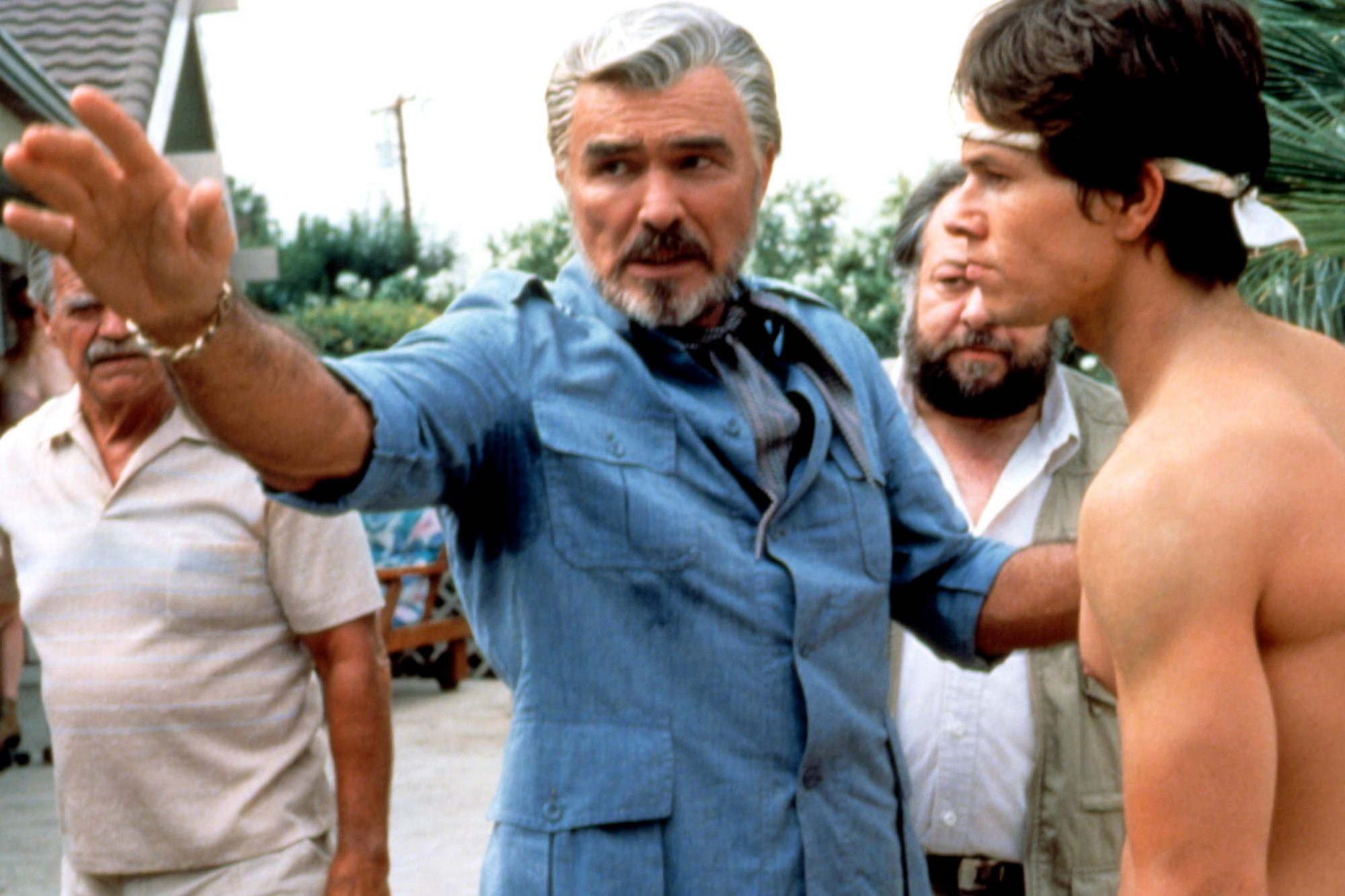 BOOGIE NIGHTS, Burt Reynolds, Mark Wahlberg, 1997