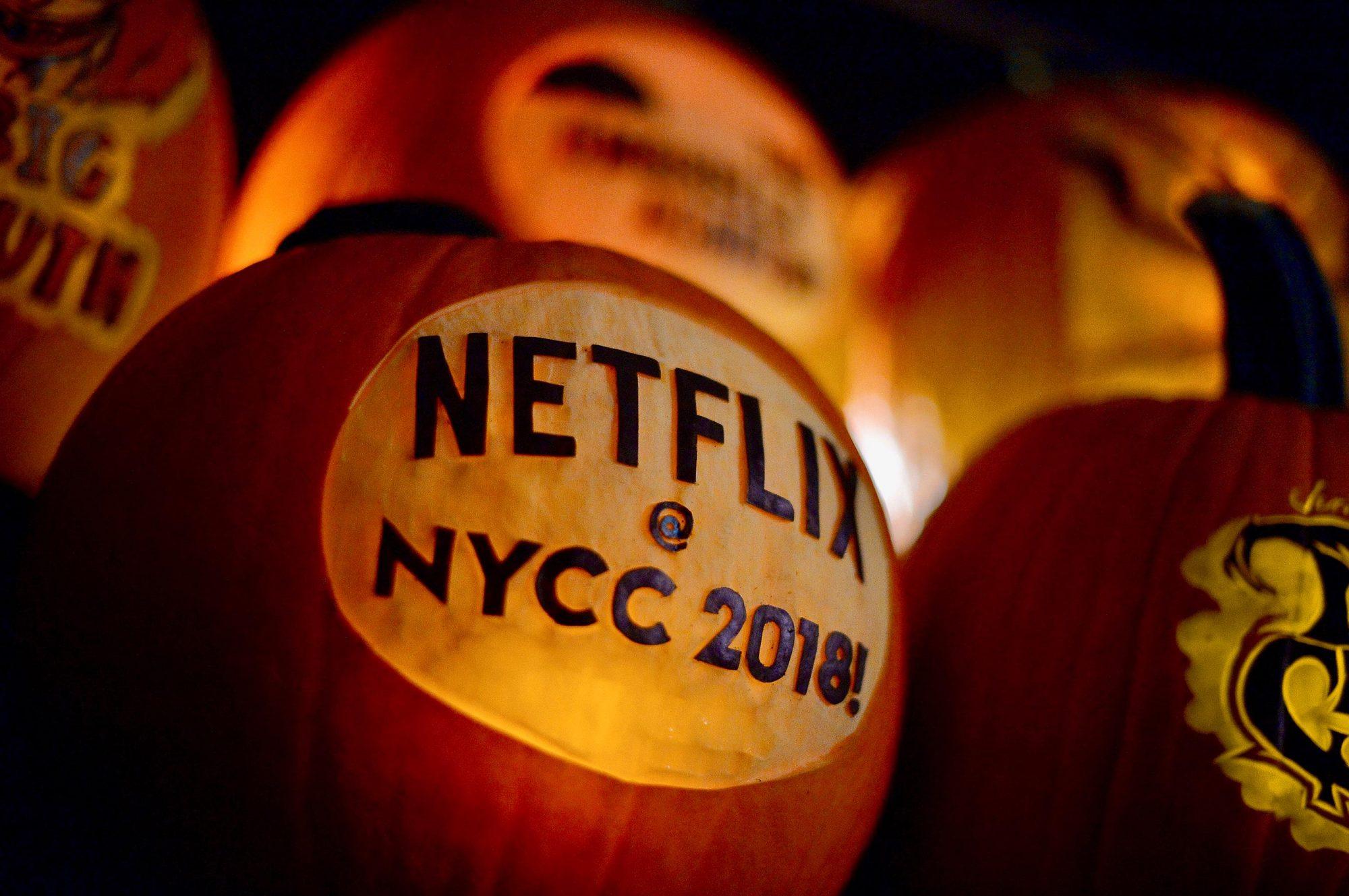 Netflix Previews It's New York comic Con LineupCredit: Netflix