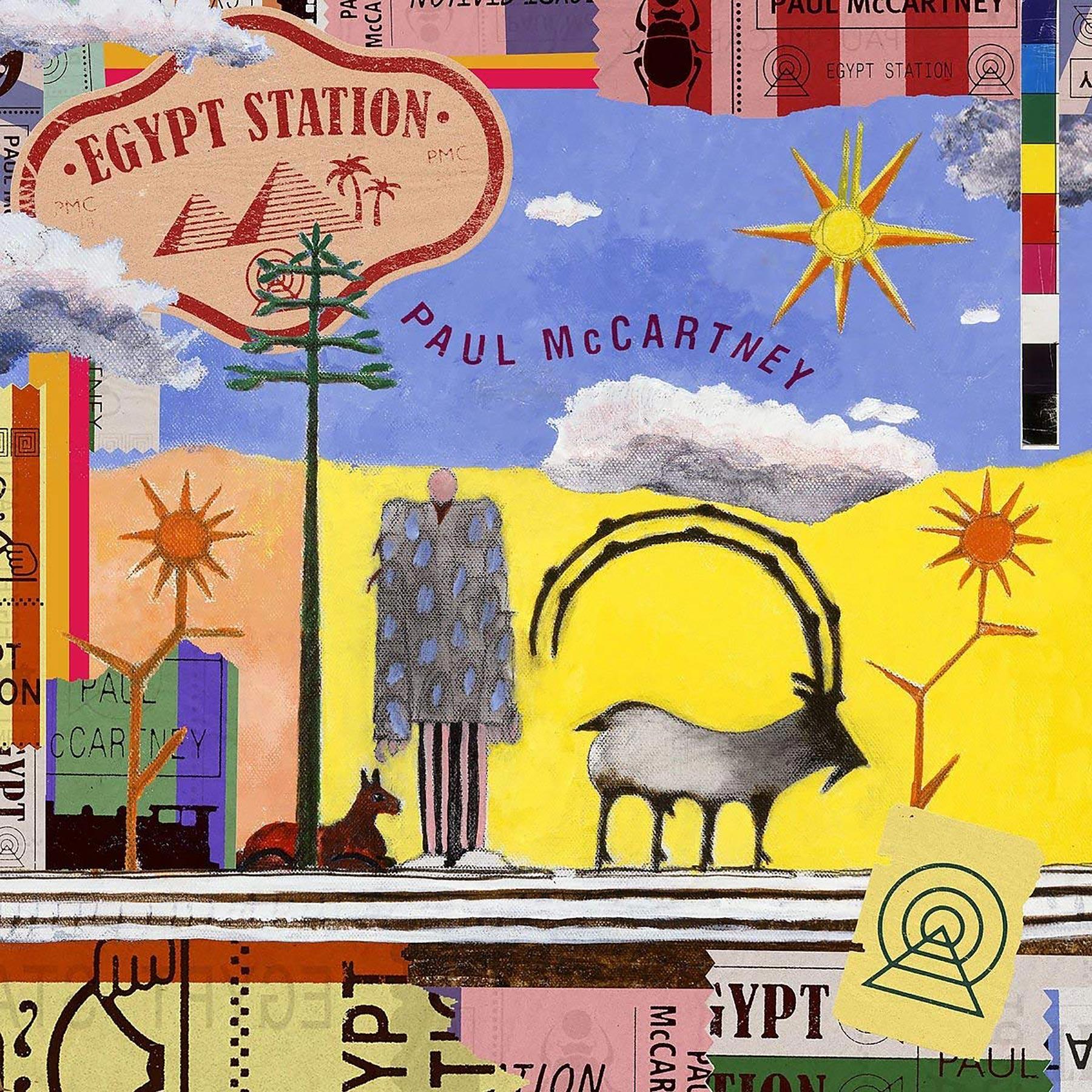 Paul McCartney, Egypt StationCR: Capitol