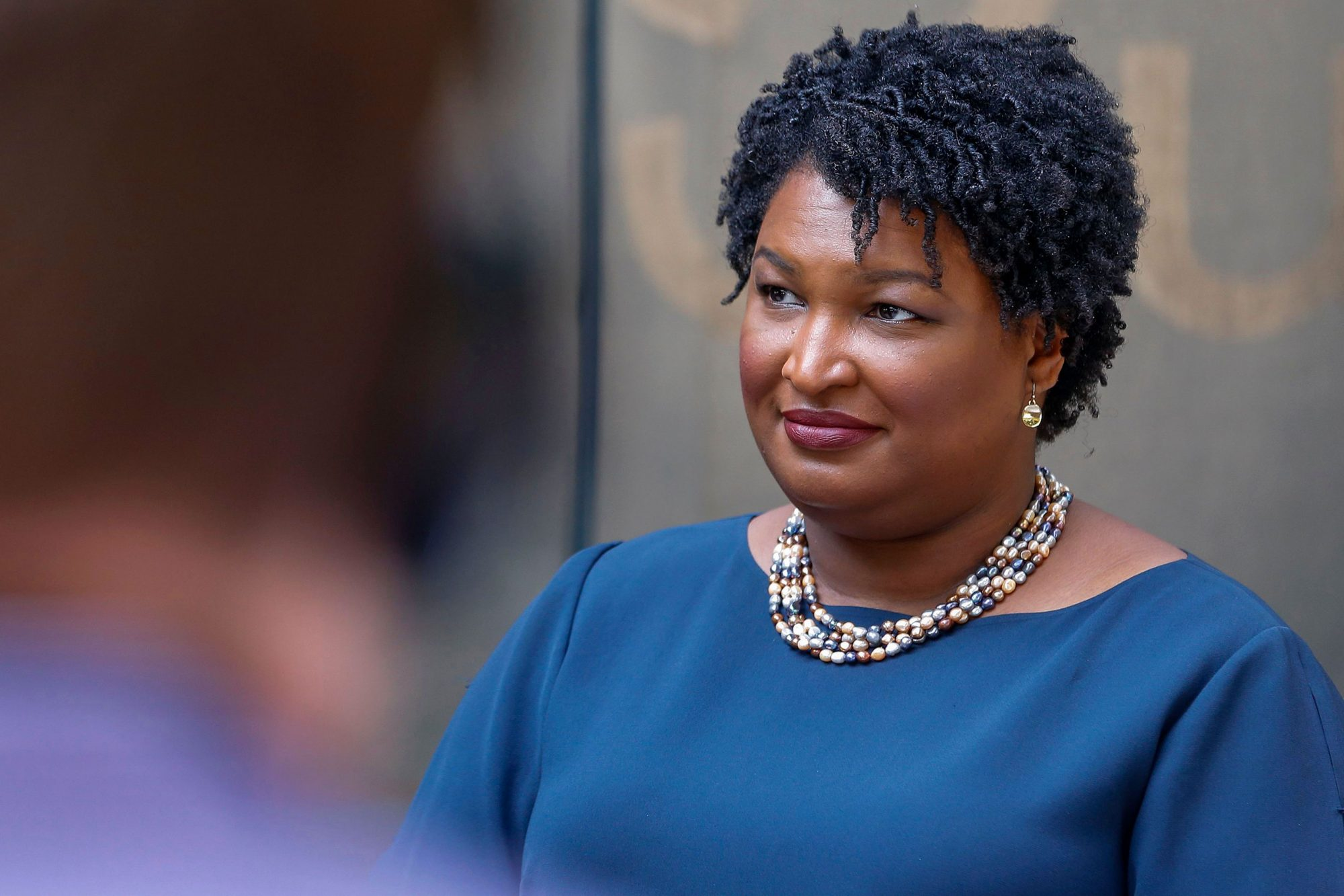 Democratic Nominee for Governor of Georgia Stacey Abrams, Atlanta, USA - 27 Jul 2018