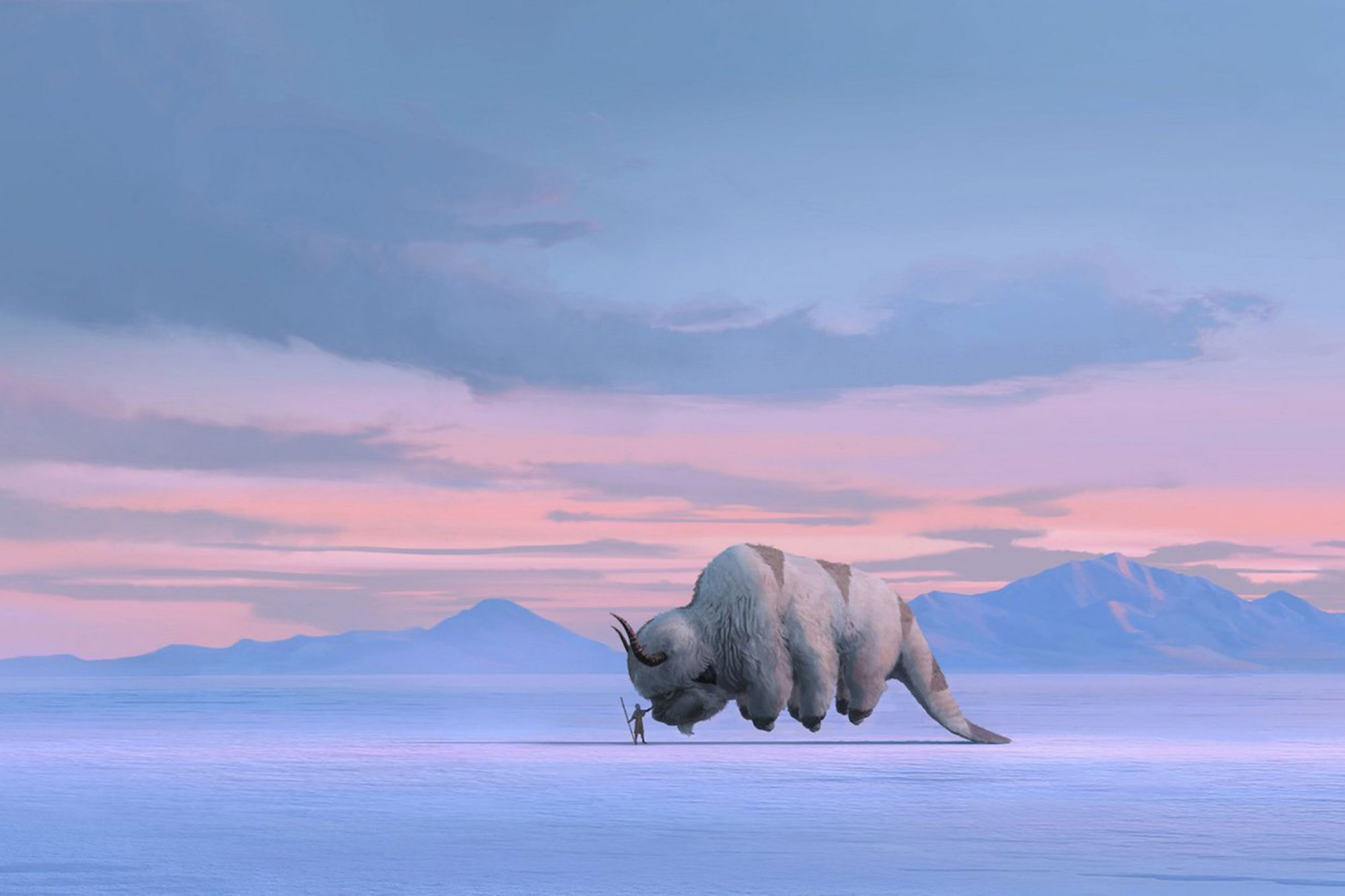 "A reimagined, live-action ""Avatar: The Last Airbender"" series"