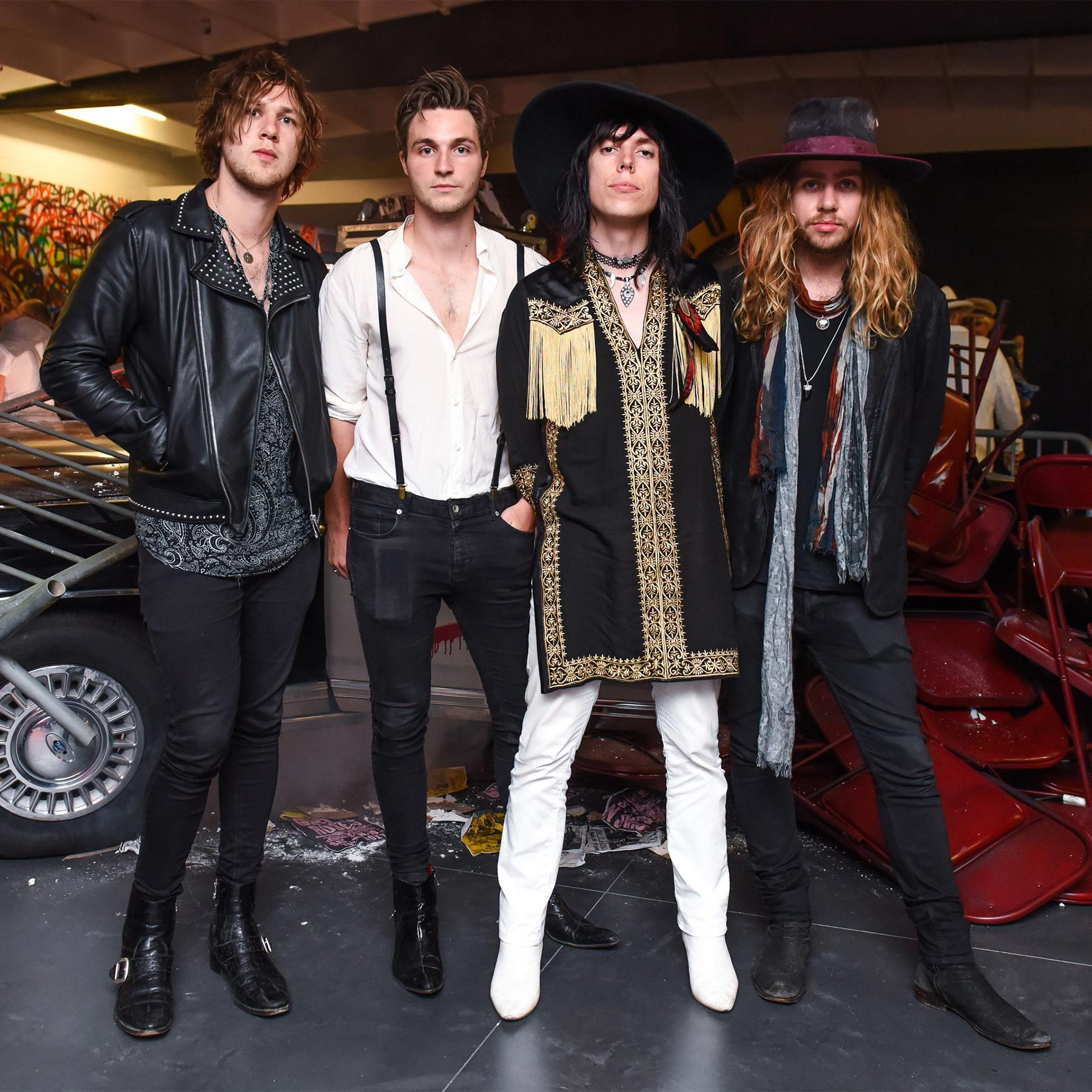 Guns N' Roses Was Here An Exclusive Retail Event in partnership with Maxfield and Bravado, Los Angeles, USA - 10 Aug 2017