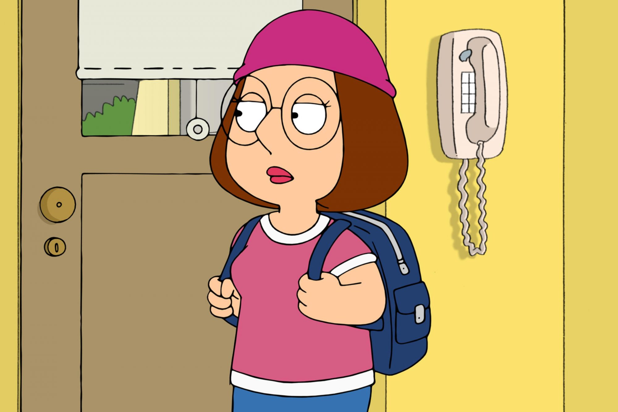 FAMILY GUY, left: Chris Griffin (voice: Seth Green), right: Meg Griffin (voice: Mila Kunis) in