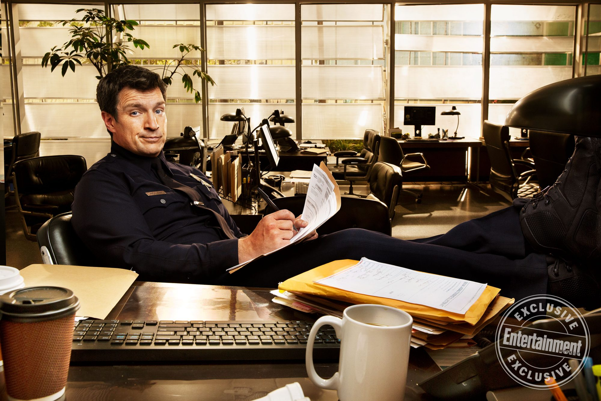 Nathan Fillion (The Rookie)
