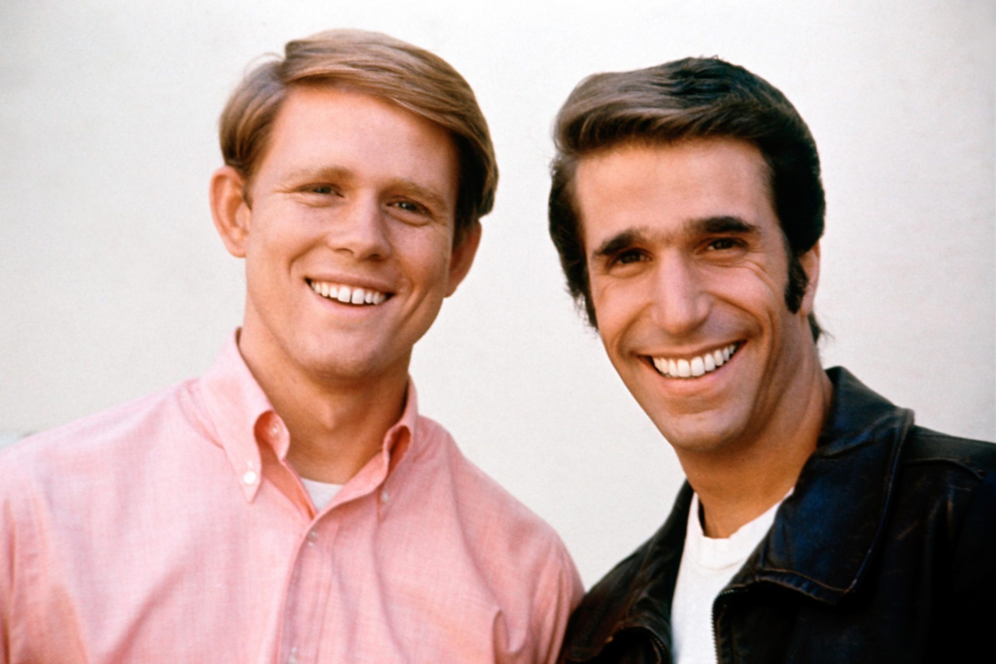 HAPPY DAYS, Henry Winkler, Ron Howard, television, 1974-1984.