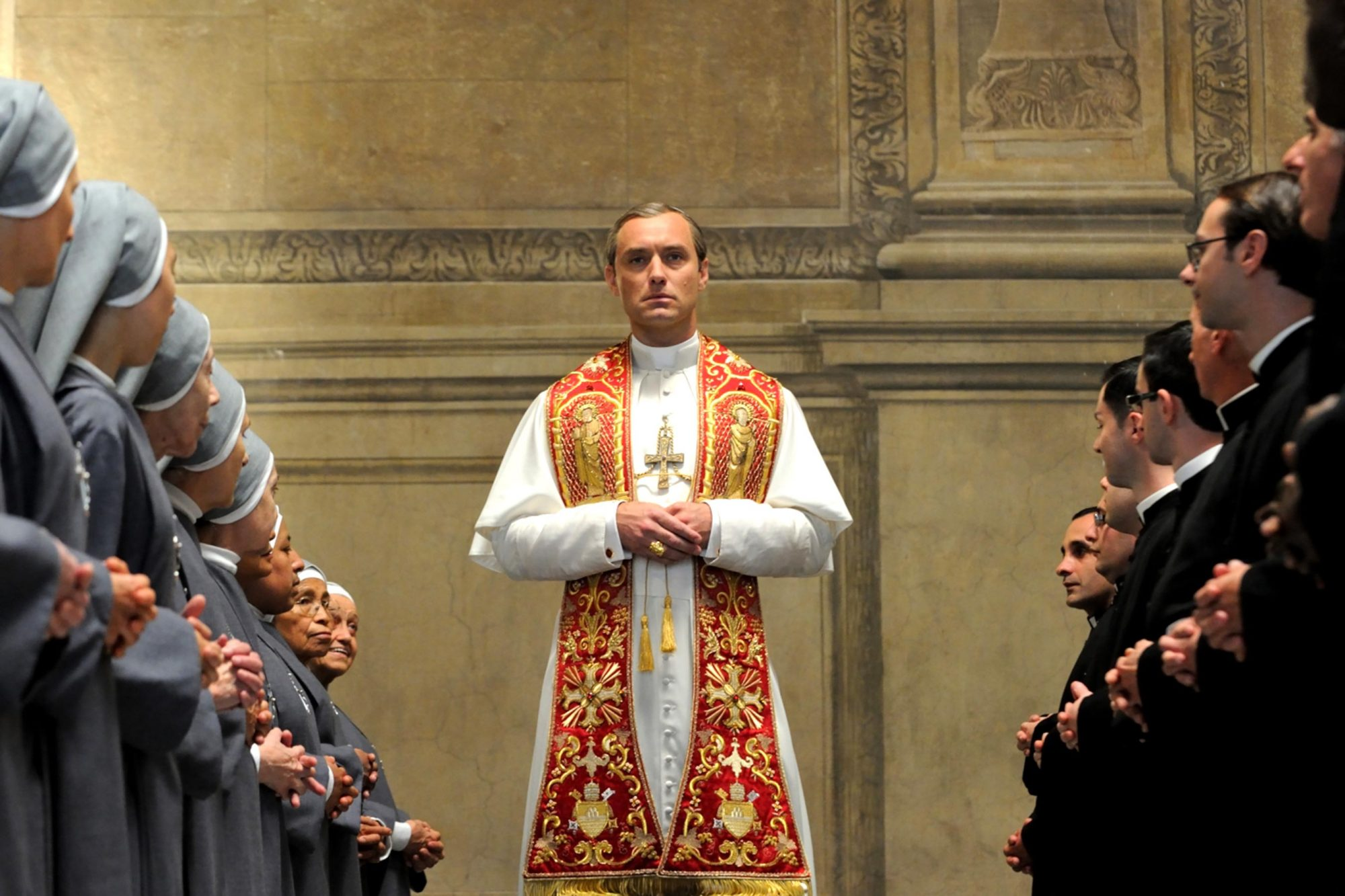 The Young Pope Season 12016Pictured: Jude Law (CR: Gianni Fiorito/HBO)