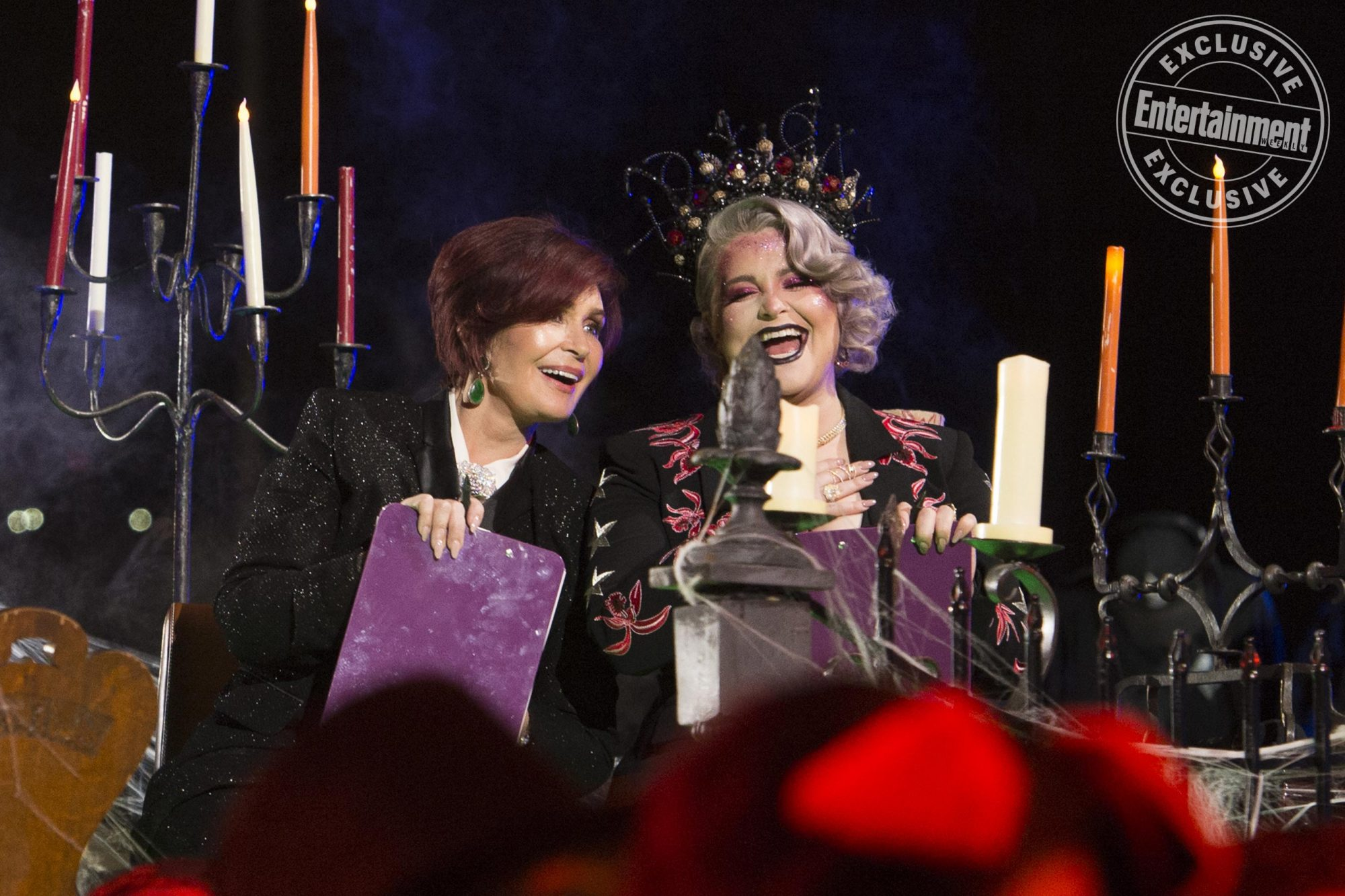 Sharon and Kelly Osbourne are judging you...