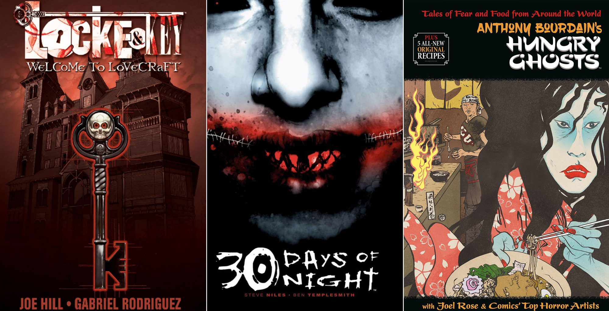 Comics To Frighten and Unsettle