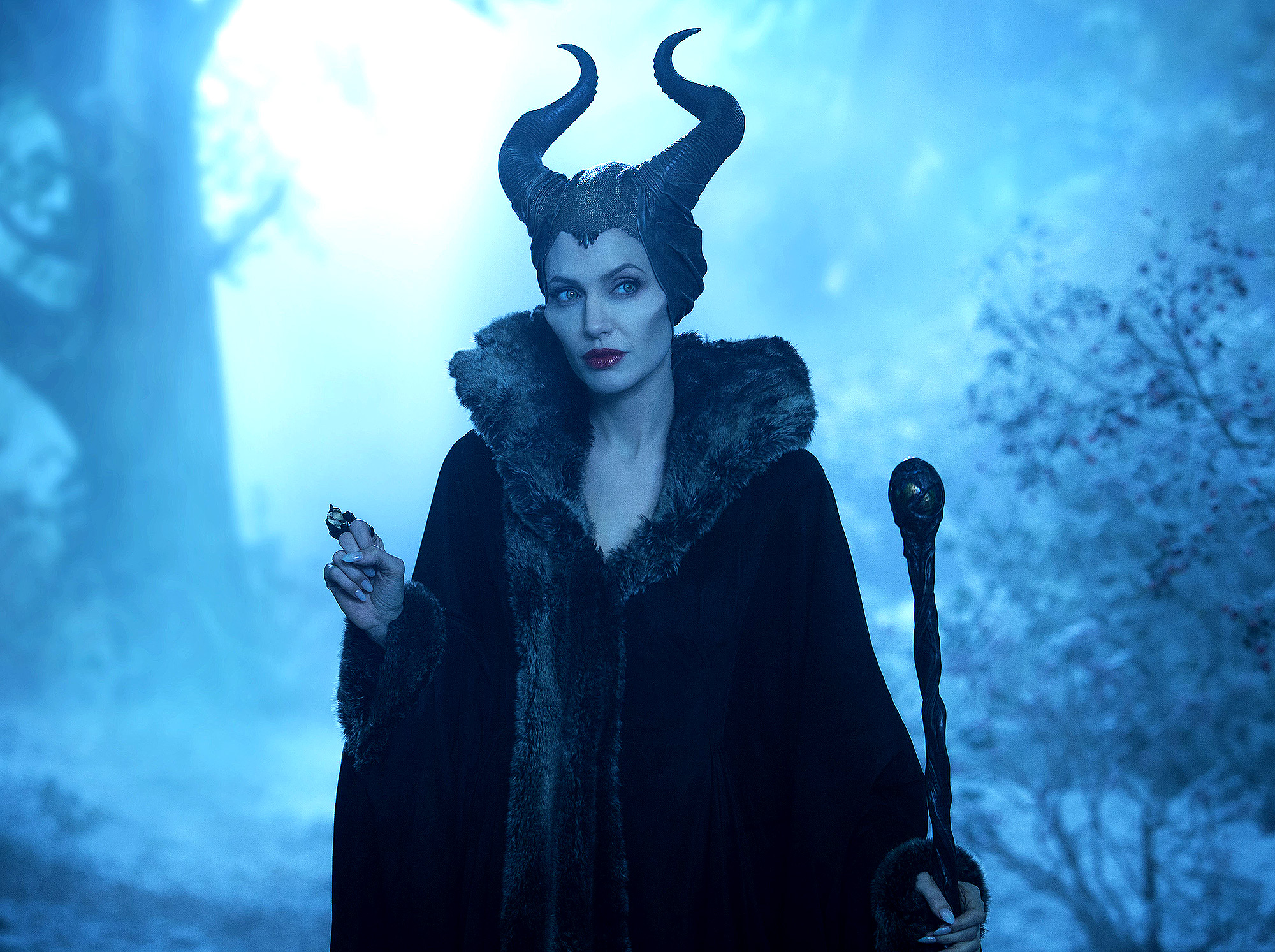 MALEFICENT, Angelina Jolie as Maleficent, 2014. ph: Frank Connor/©Walt Disney Studios Motion