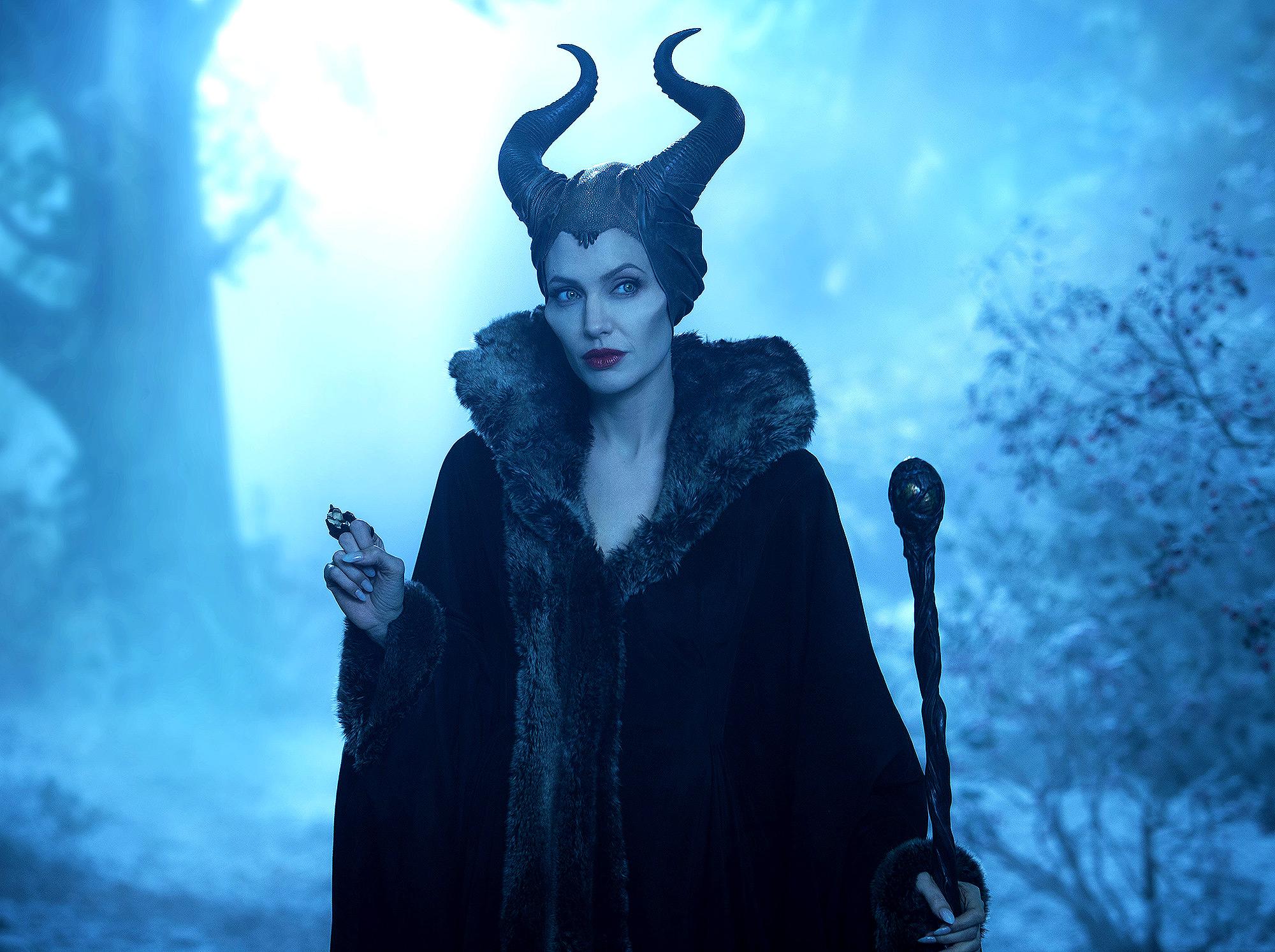 MALEFICENT, Angelina Jolie as Maleficent, 2014. ph: Frank Connor/©Walt Disney Studios Motion
