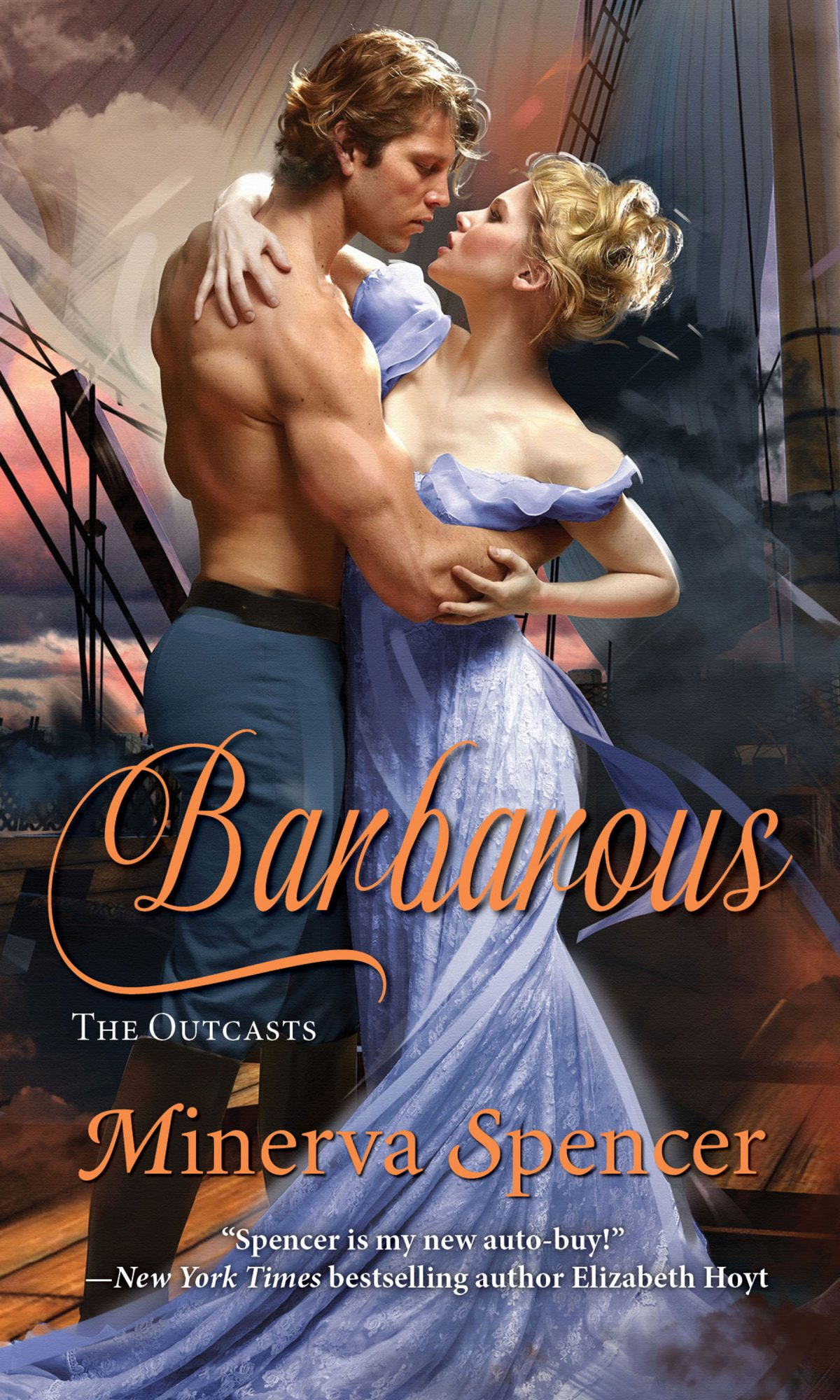 BarbarousBook by Minerva SpencerCR: Kensington