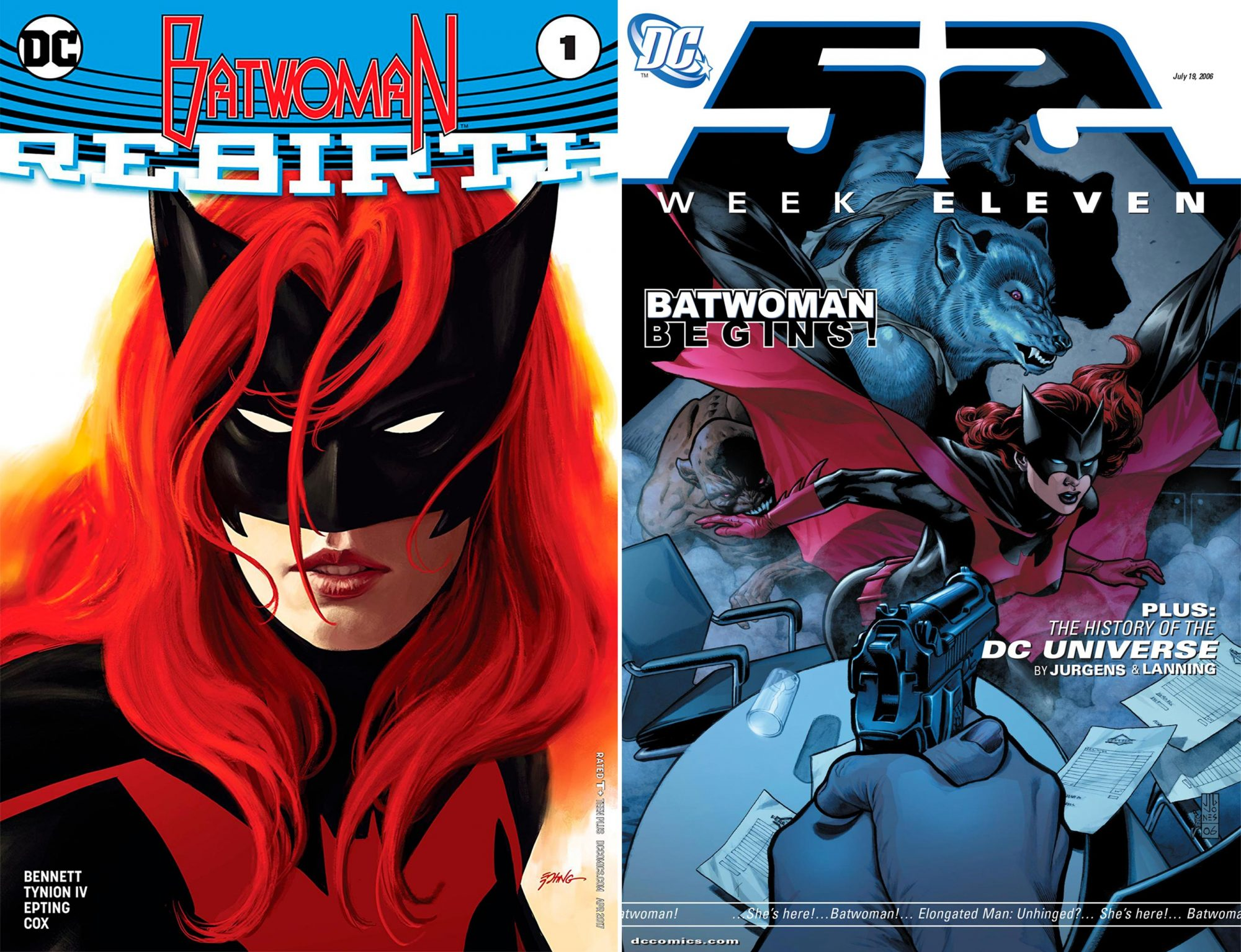 If you're excited about the Arrowverse 'Elseworlds' crossover...read 52 and Batwoman: The Many Arms of Death