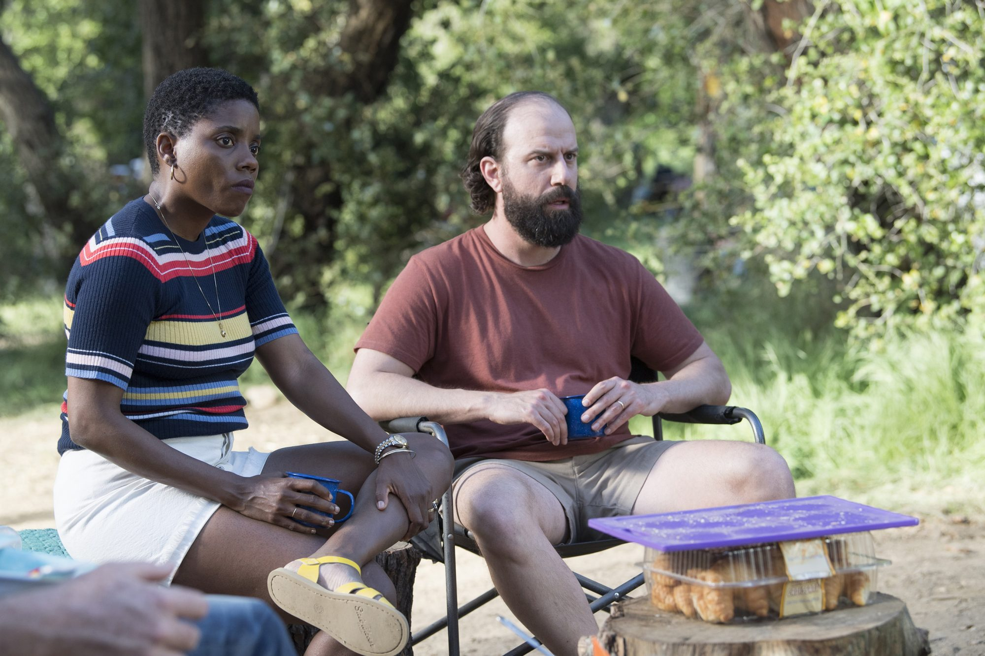 Nina-Joy (Janicza Bravo) and George (Brett Gelman)
