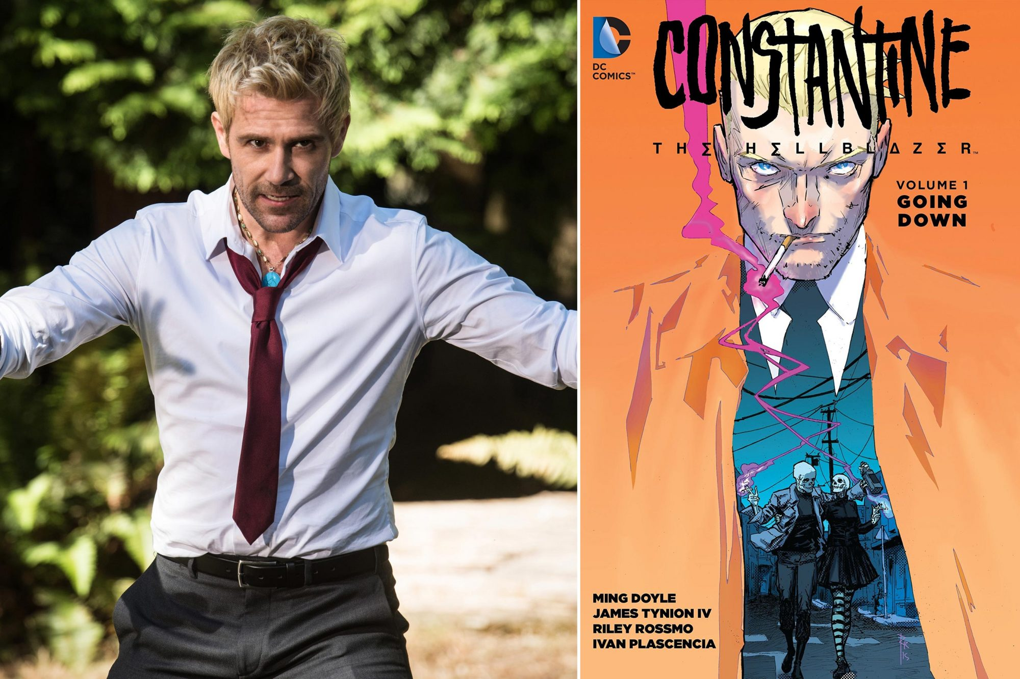 If you watch DC's Legends of Tomorrow... then read Constantine: The Hellblazer, Vol. 1: Going Down and Vol. 2: The Art of the Dea