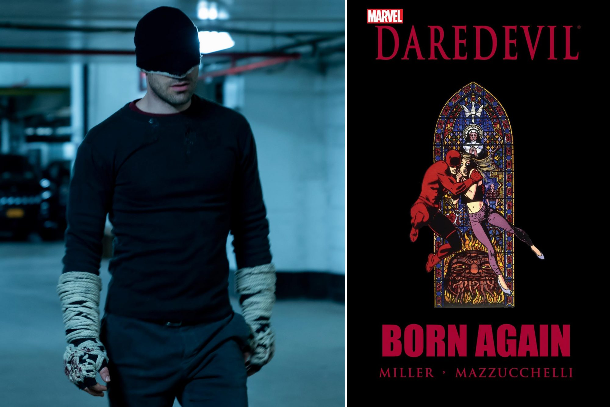 If you watch Marvel's Daredevil... then read Daredevil: Born Again