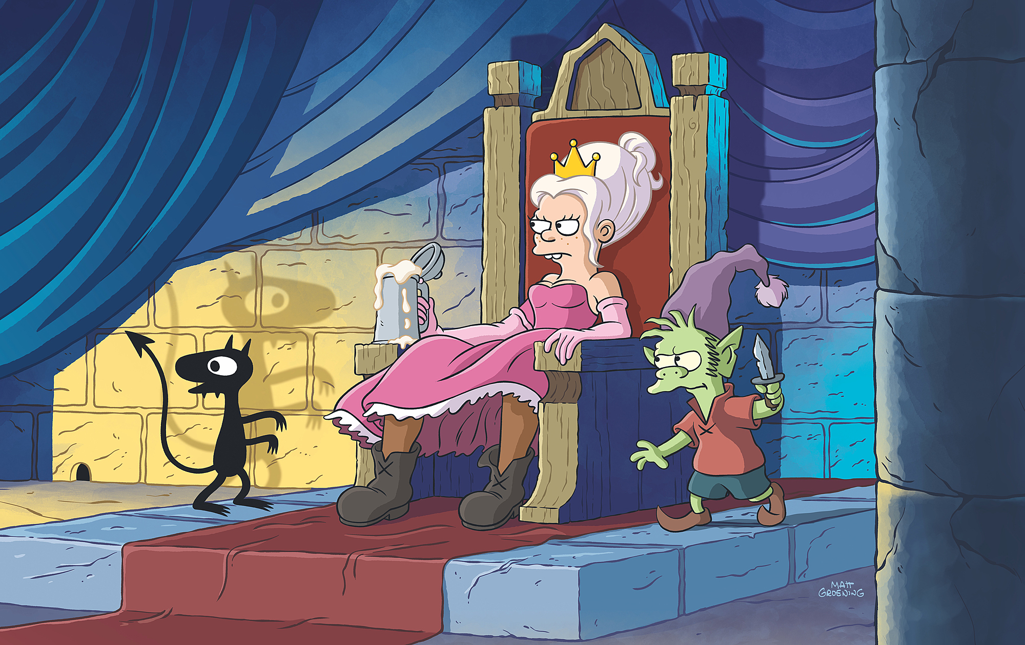 First Look Images - DisenchantmentCredit: Netflix