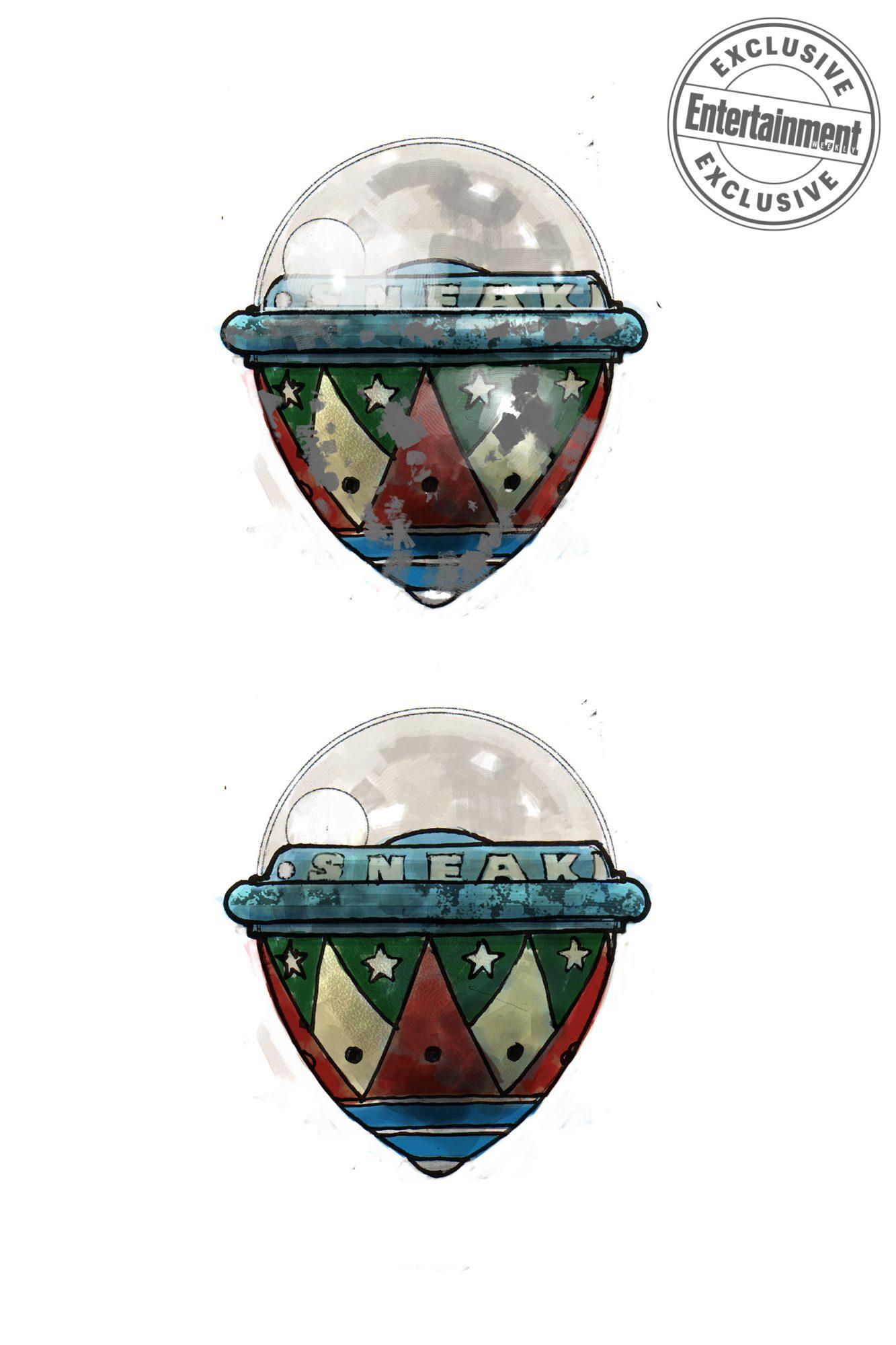 Harry PotterSneakoscope concept art