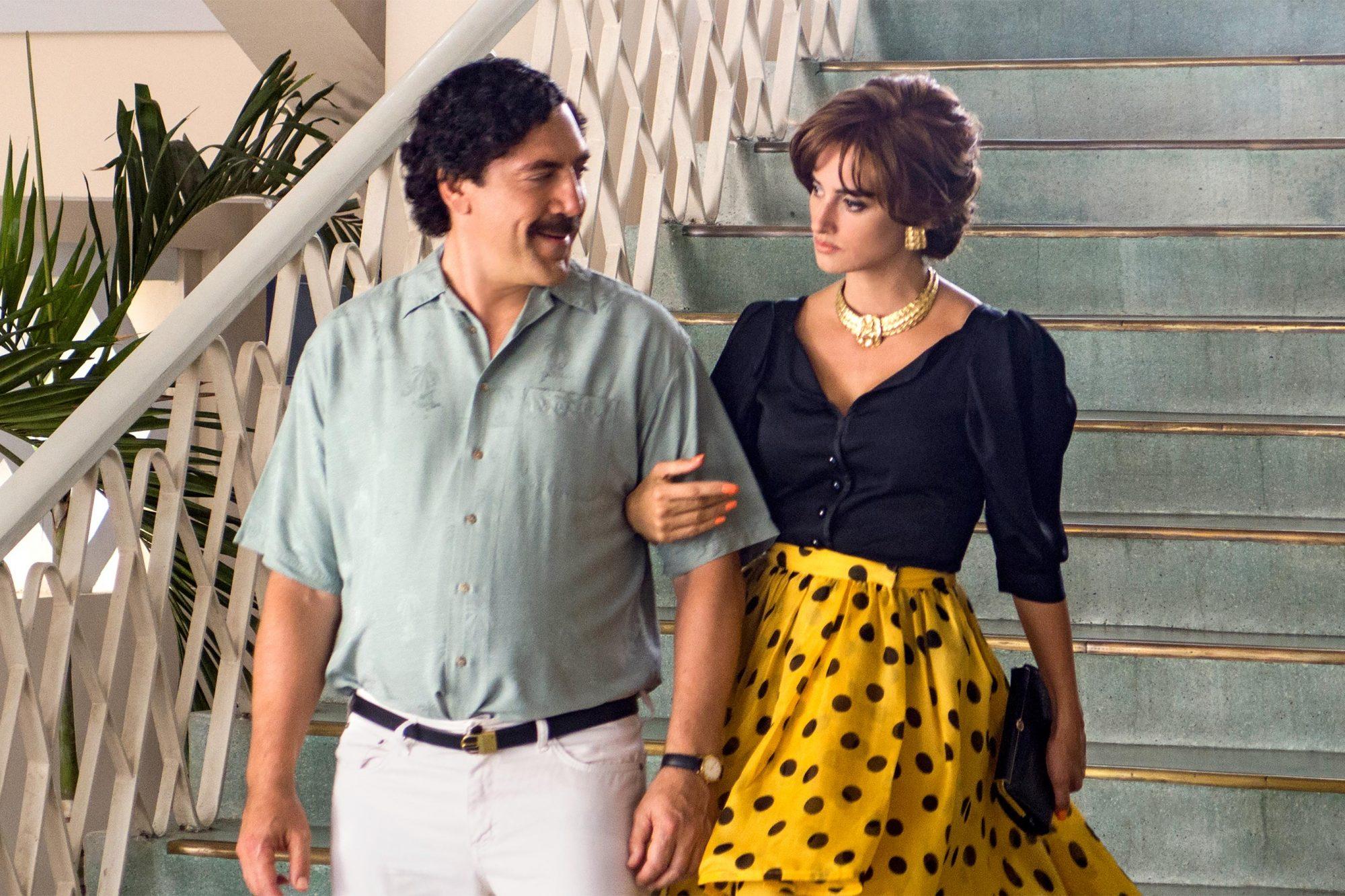 Loving PabloJavier Bardem as Pablo Escobar,  Penelope Cruz as Virginia Vallejo