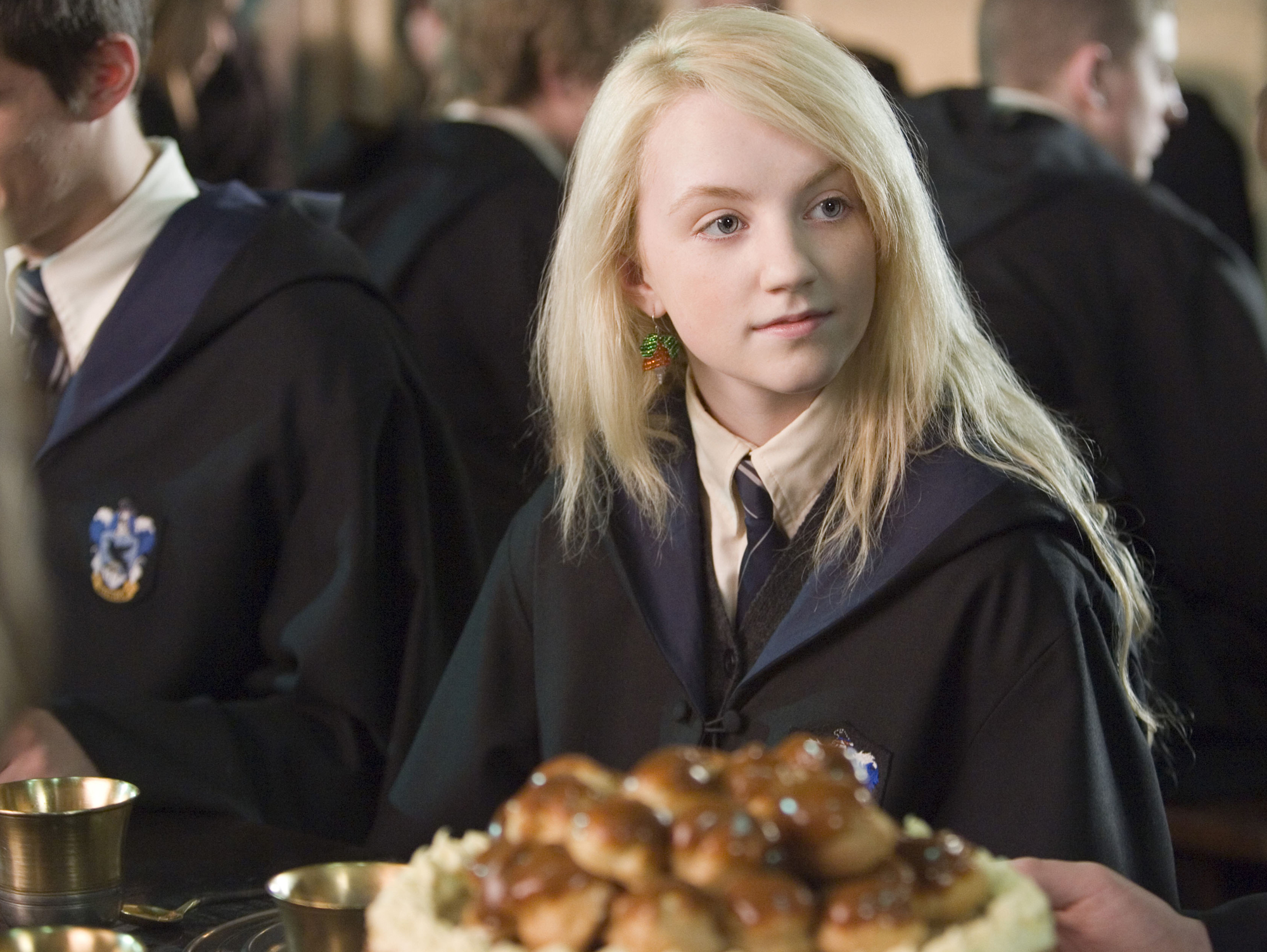 HARRY POTTER AND THE ORDER OF THE PHOENIX, Evanna Lynch, 2007. ©Warner Bros./courtesy Everett Collec