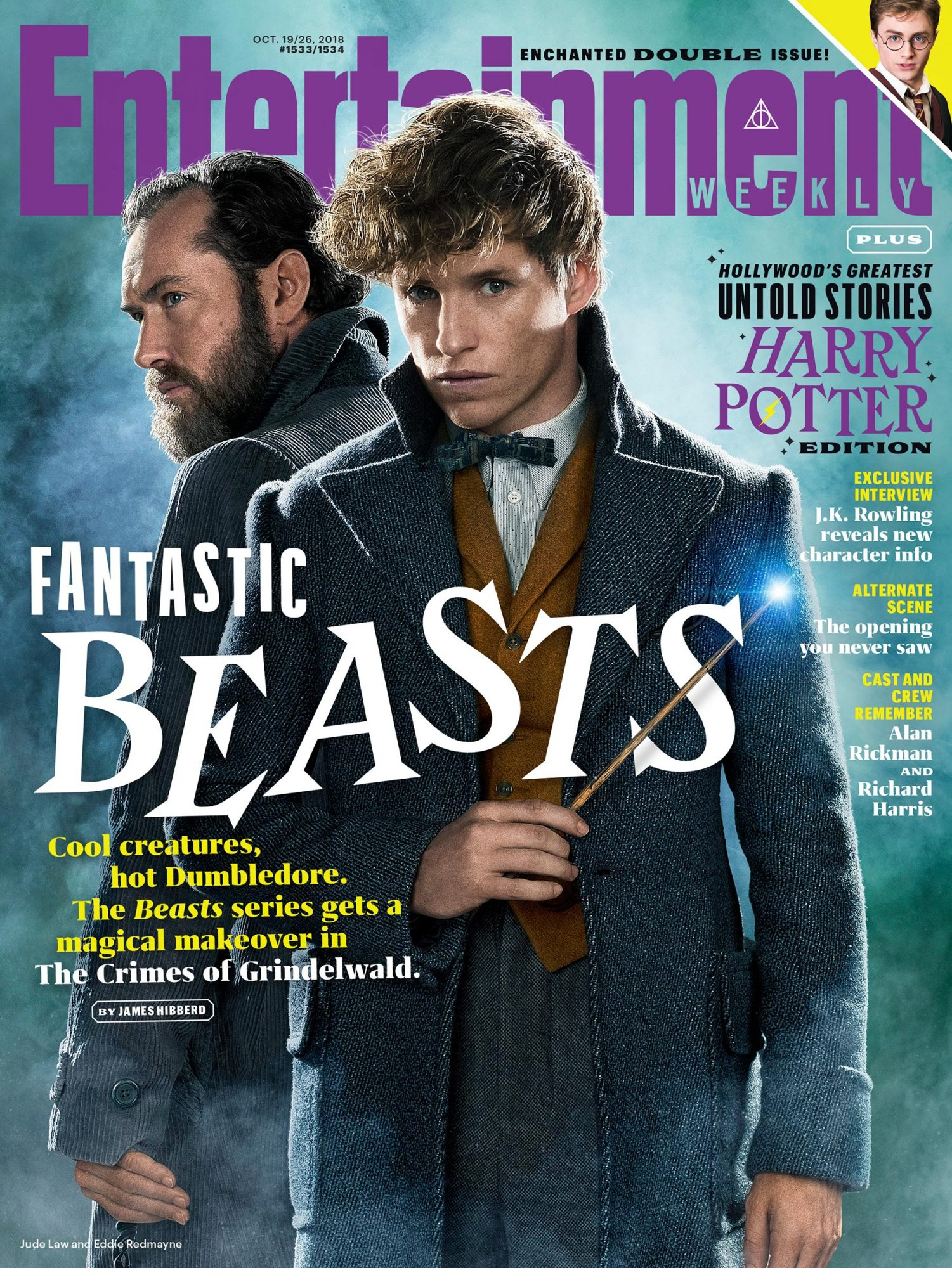 EW's Fantastic Beasts issue